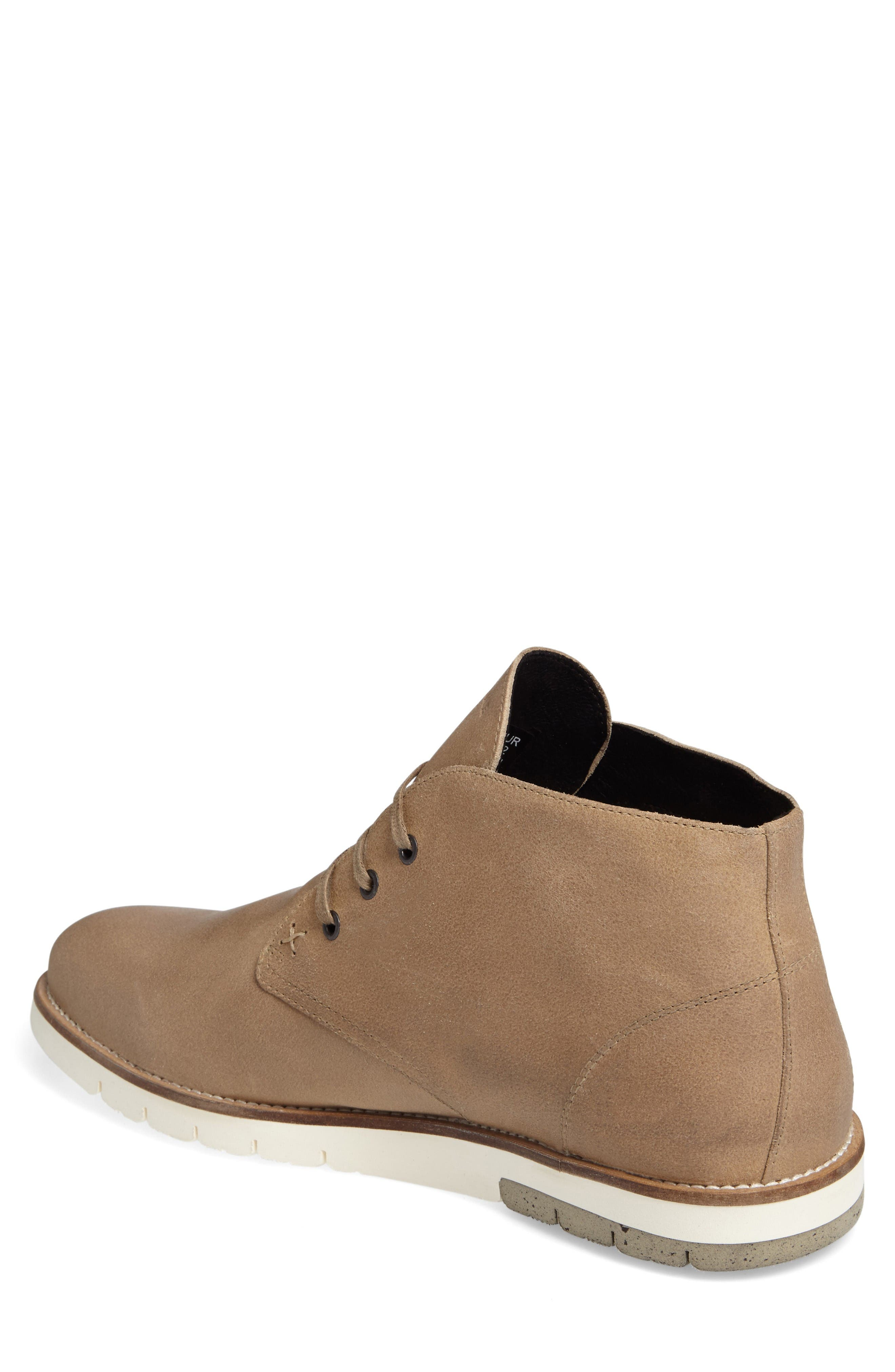 Gibson Chukka Boot,                             Alternate thumbnail 2, color,                             Stone Suede
