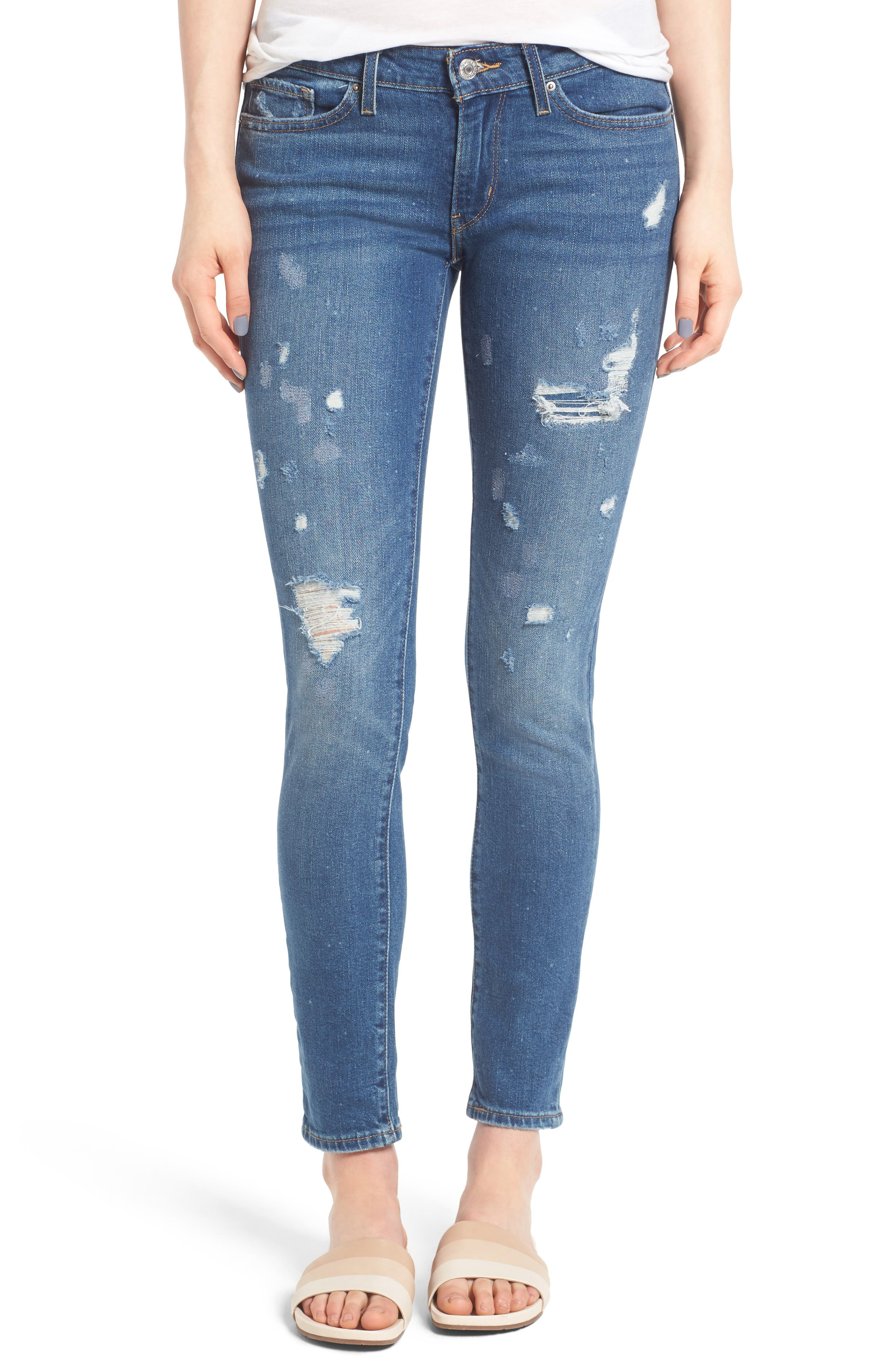 Alternate Image 1 Selected - Levi's® 711 Skinny Jeans