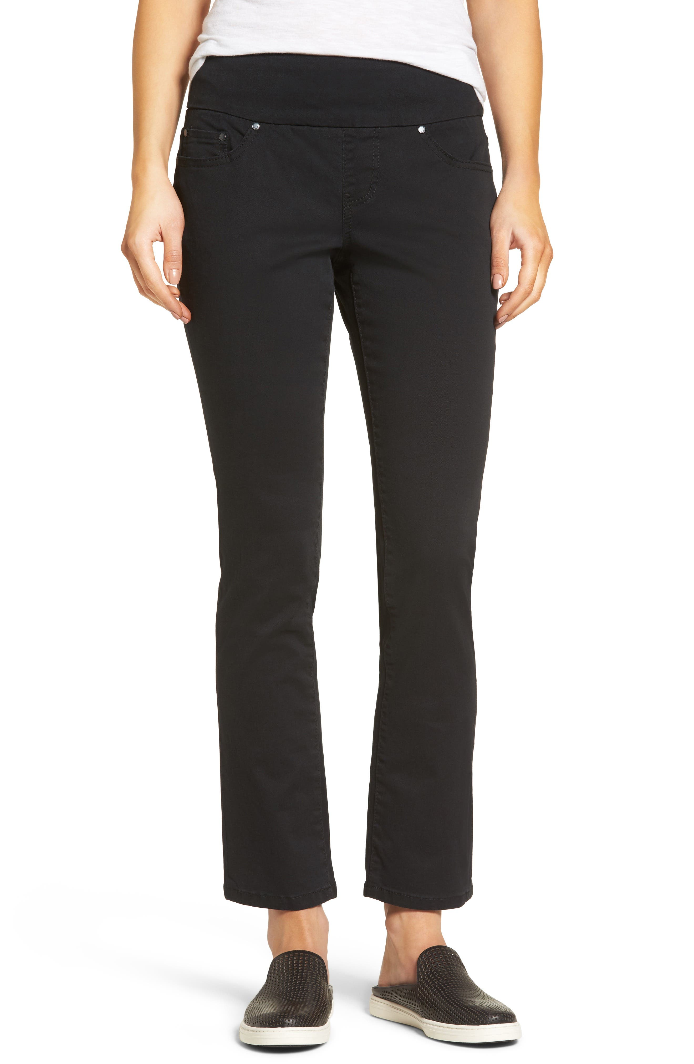Jag Jeans Peri Pull-On Twill Ankle Pants (Petite)