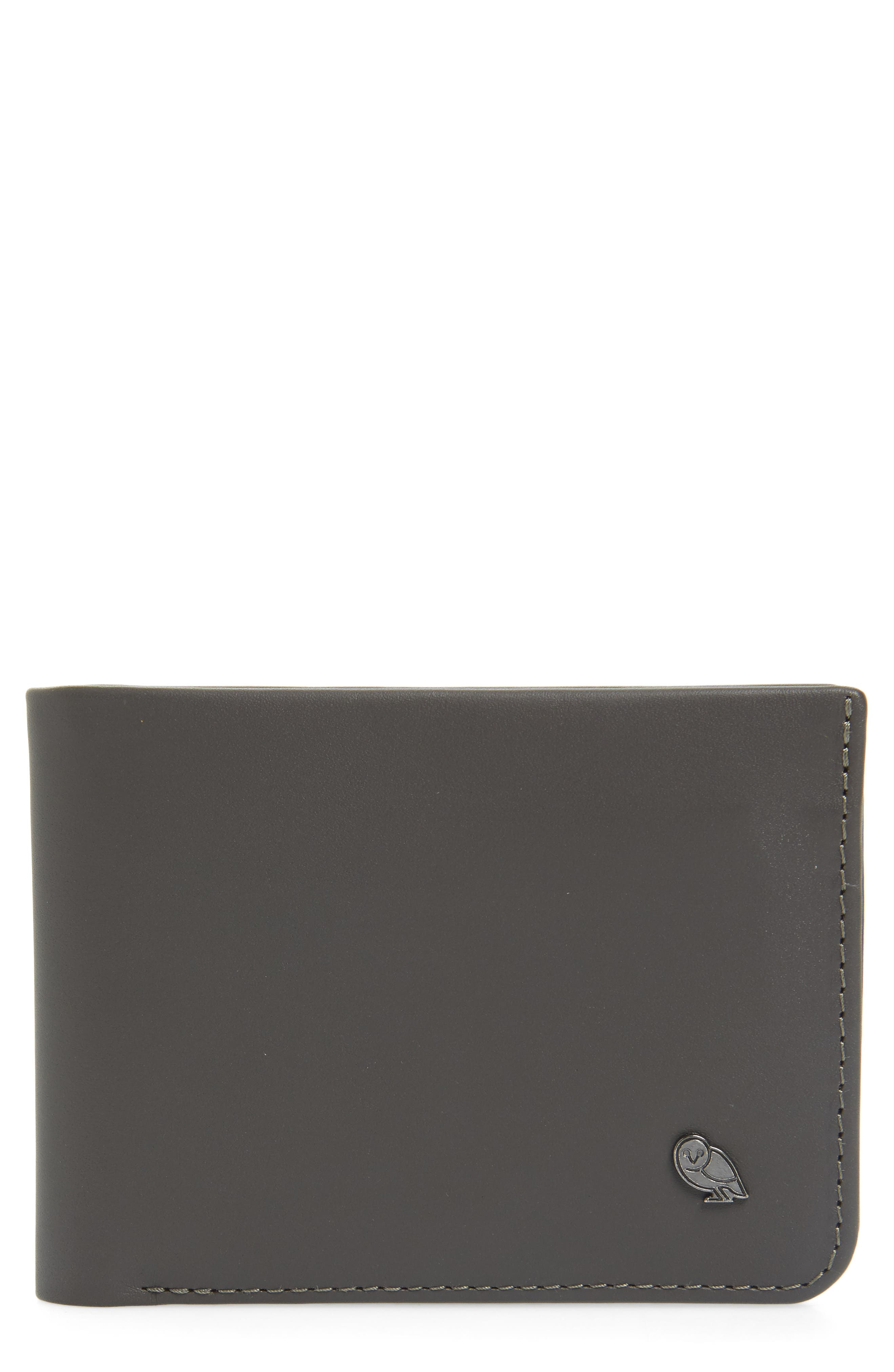 'Hide And Seek' Wallet,                         Main,                         color, Charcoal/ Arctic Blue