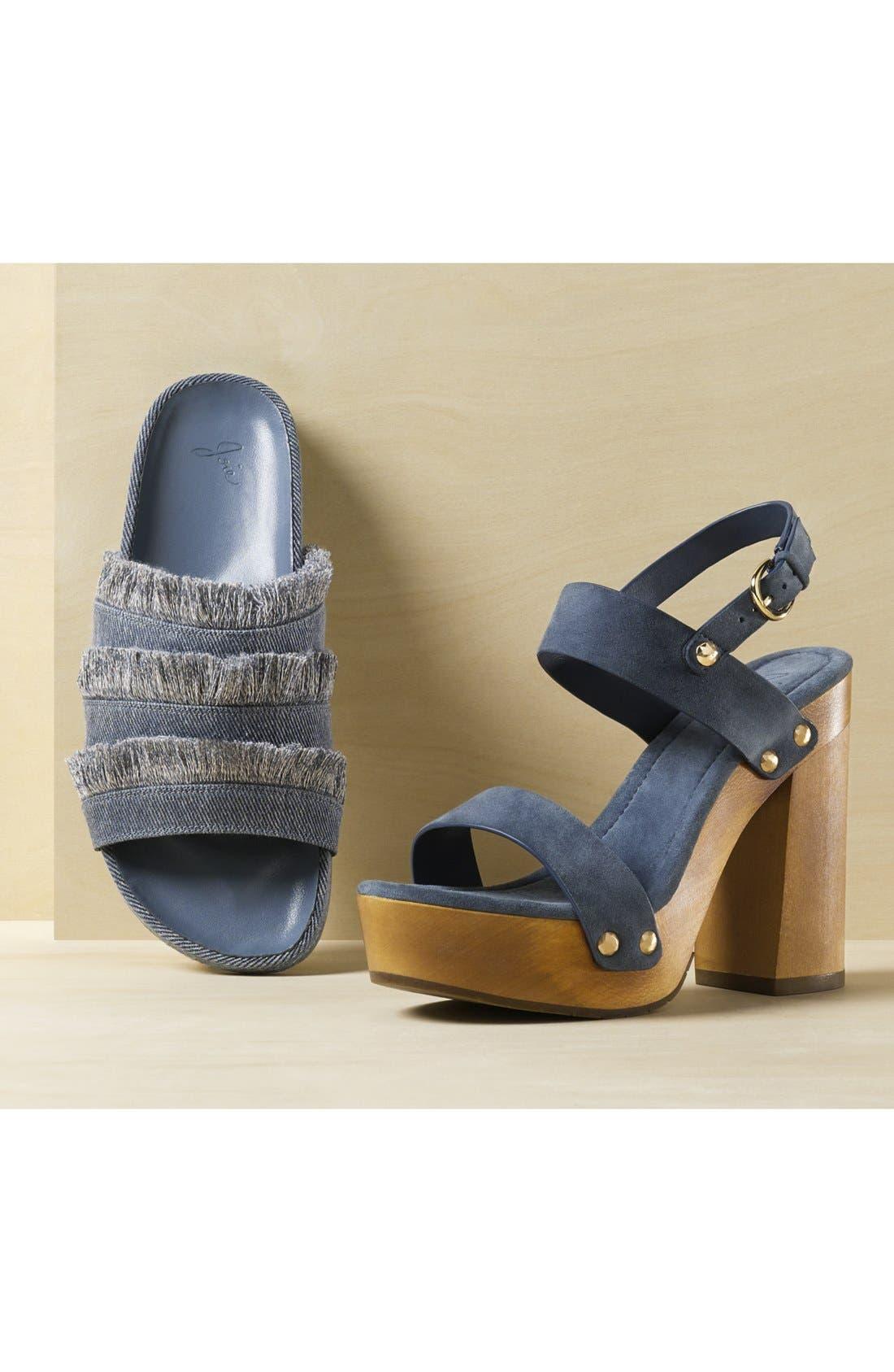 Jaden Slide Sandal,                             Alternate thumbnail 3, color,