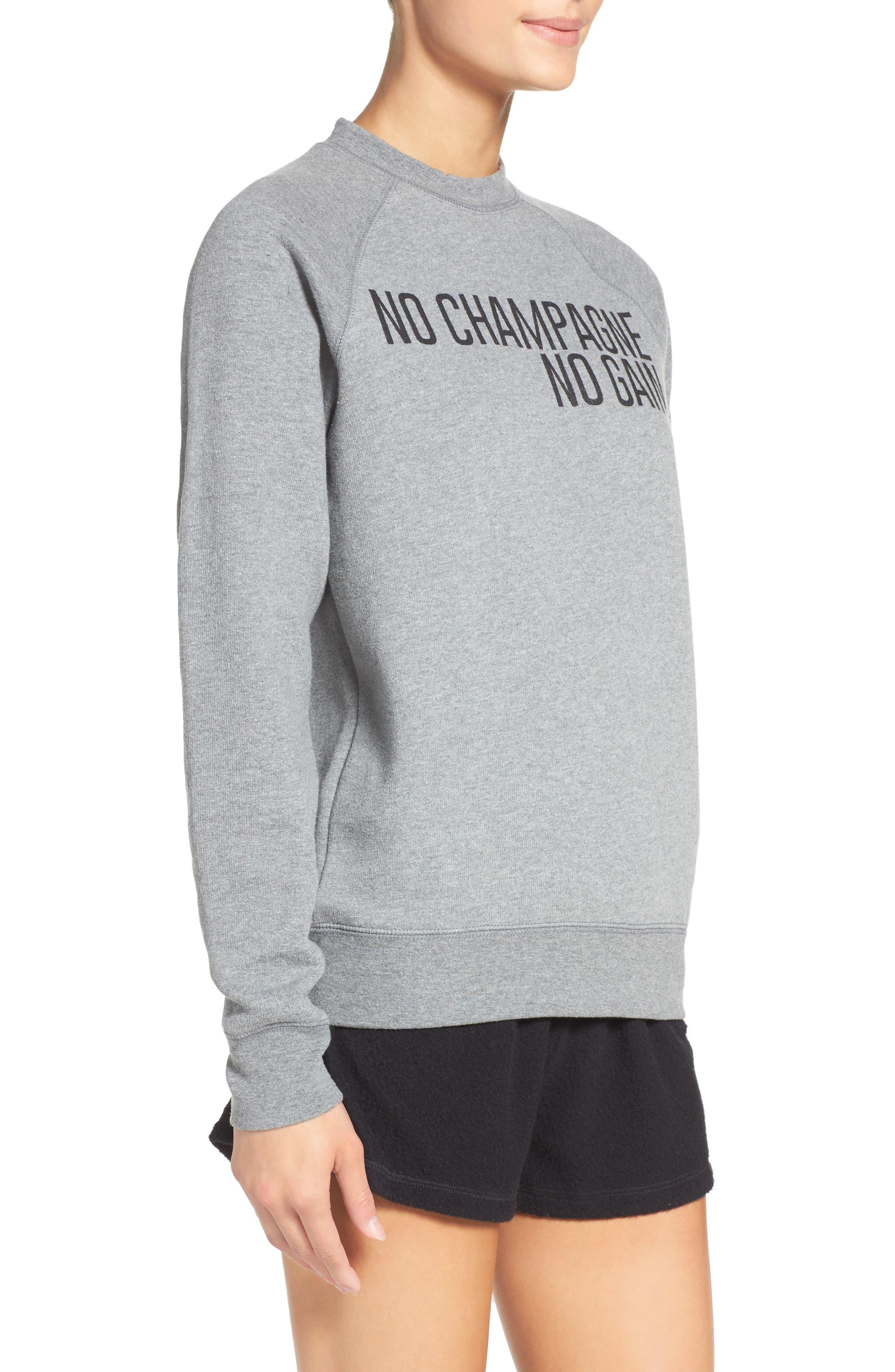 Graphic Sweatshirt,                             Alternate thumbnail 3, color,                             Grey