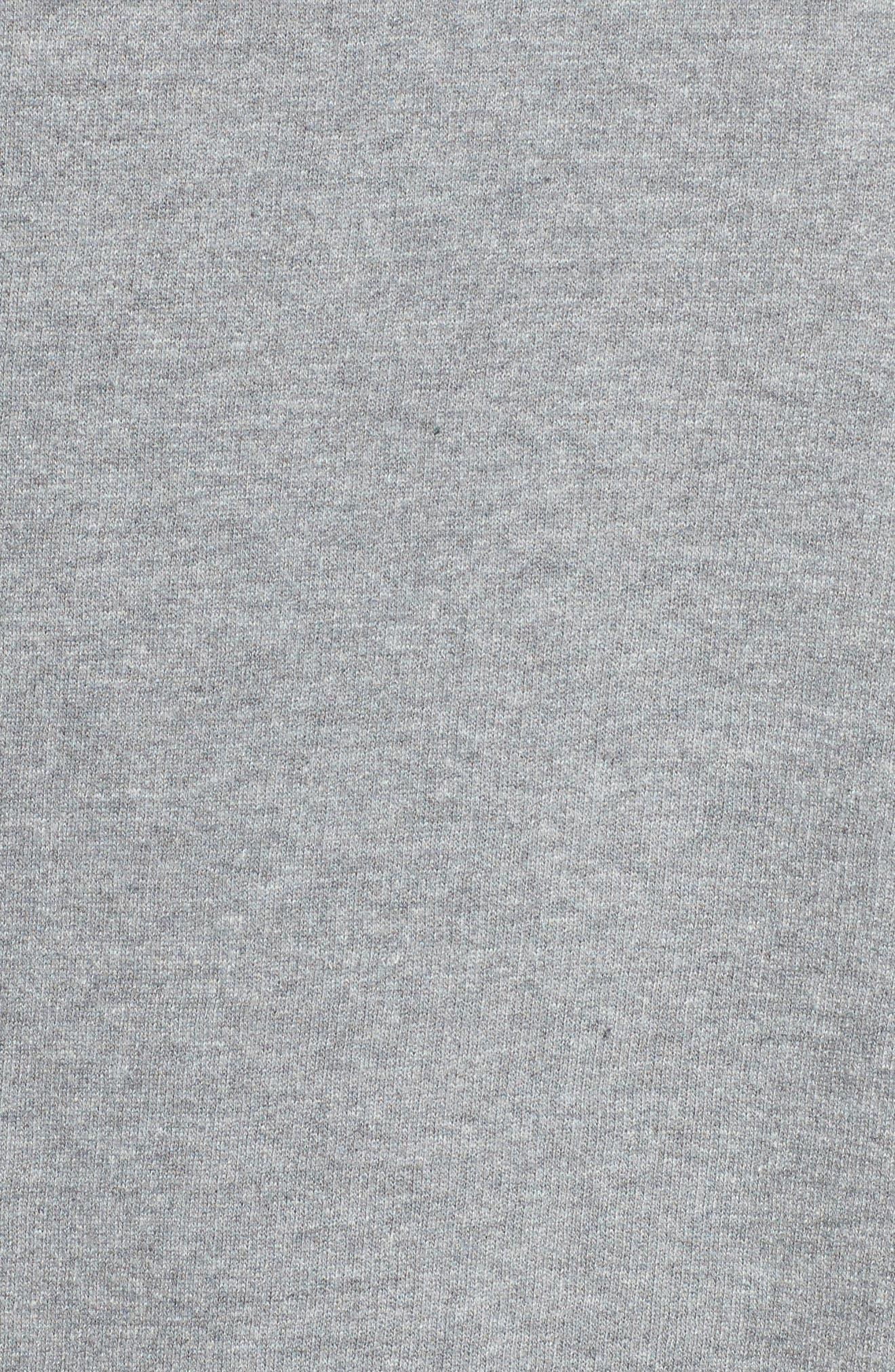 Crewneck Sweatshirt,                             Alternate thumbnail 5, color,                             Heather Grey