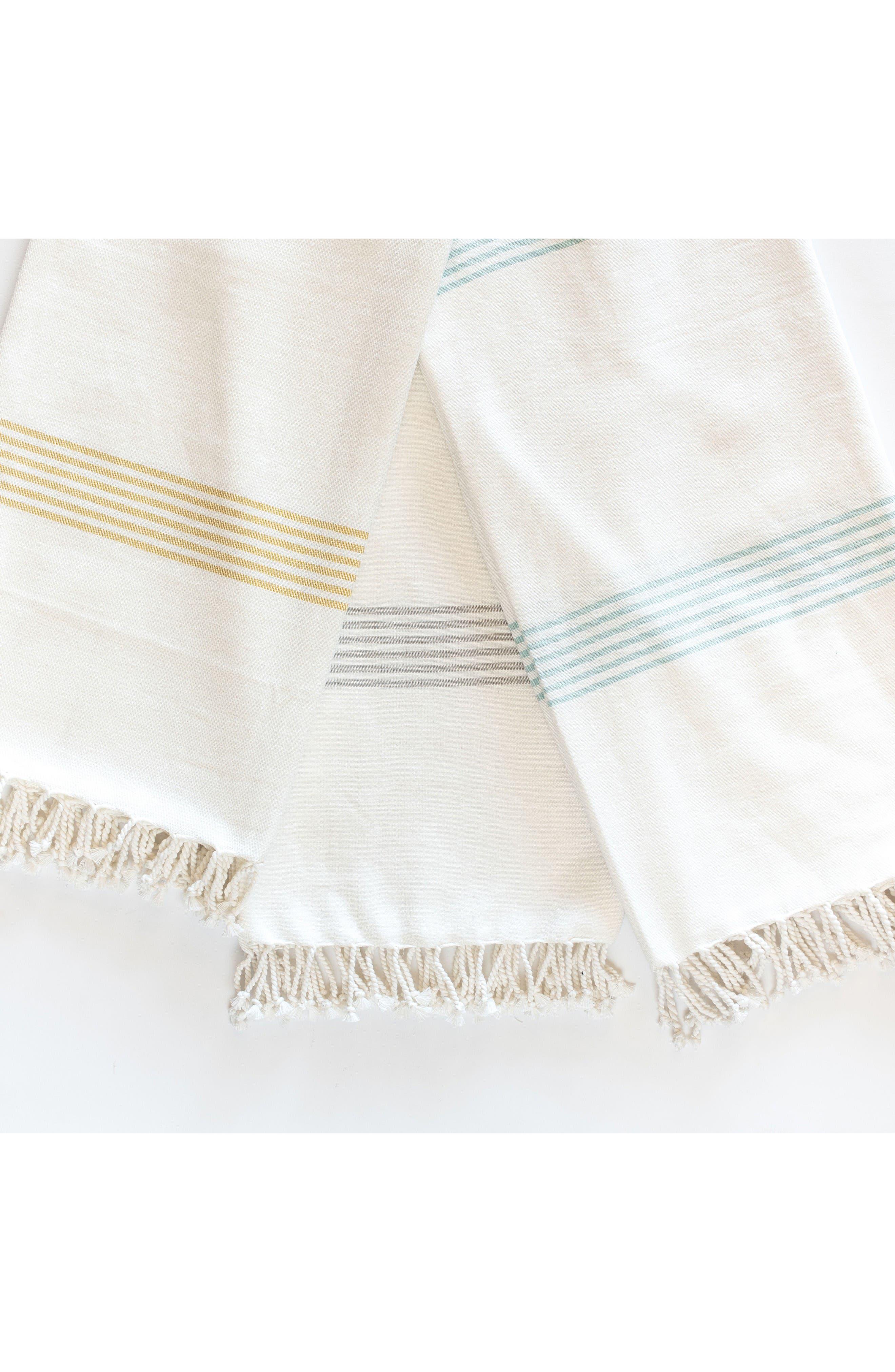 Hudson Throw Blanket,                             Alternate thumbnail 2, color,                             Aqua