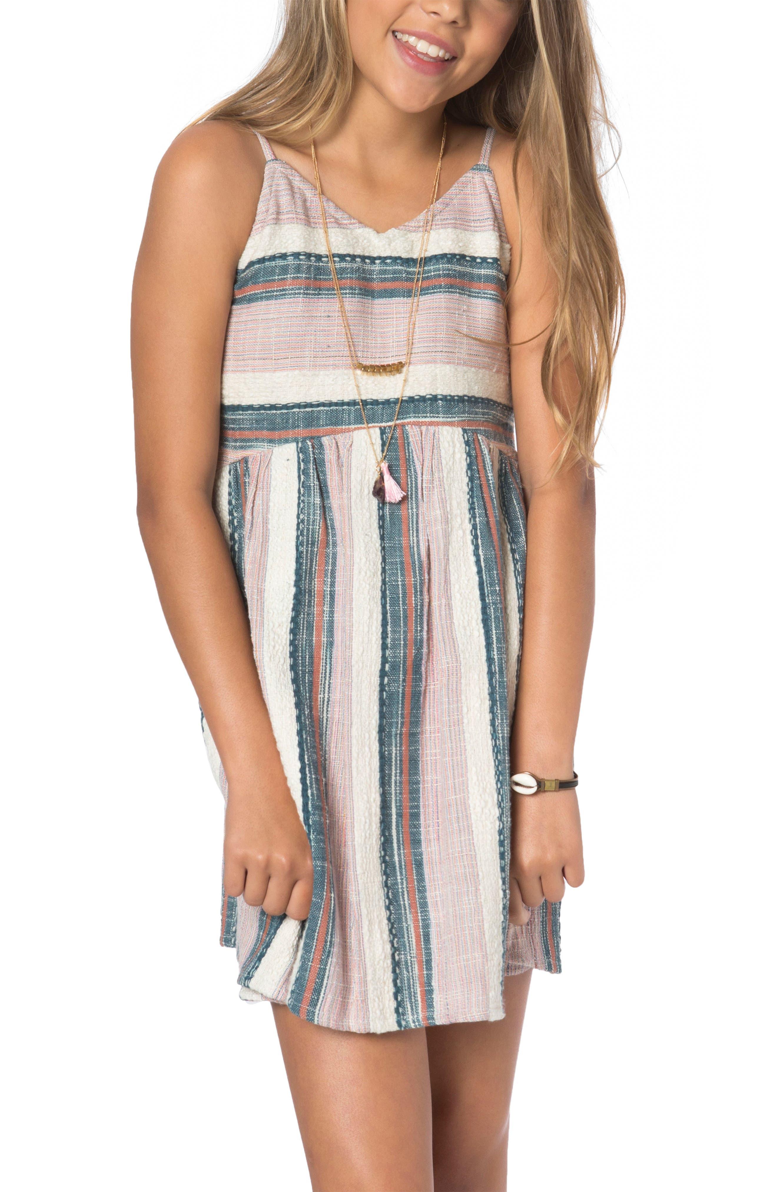 Cece Tank Dress,                         Main,                         color, Pink Multi