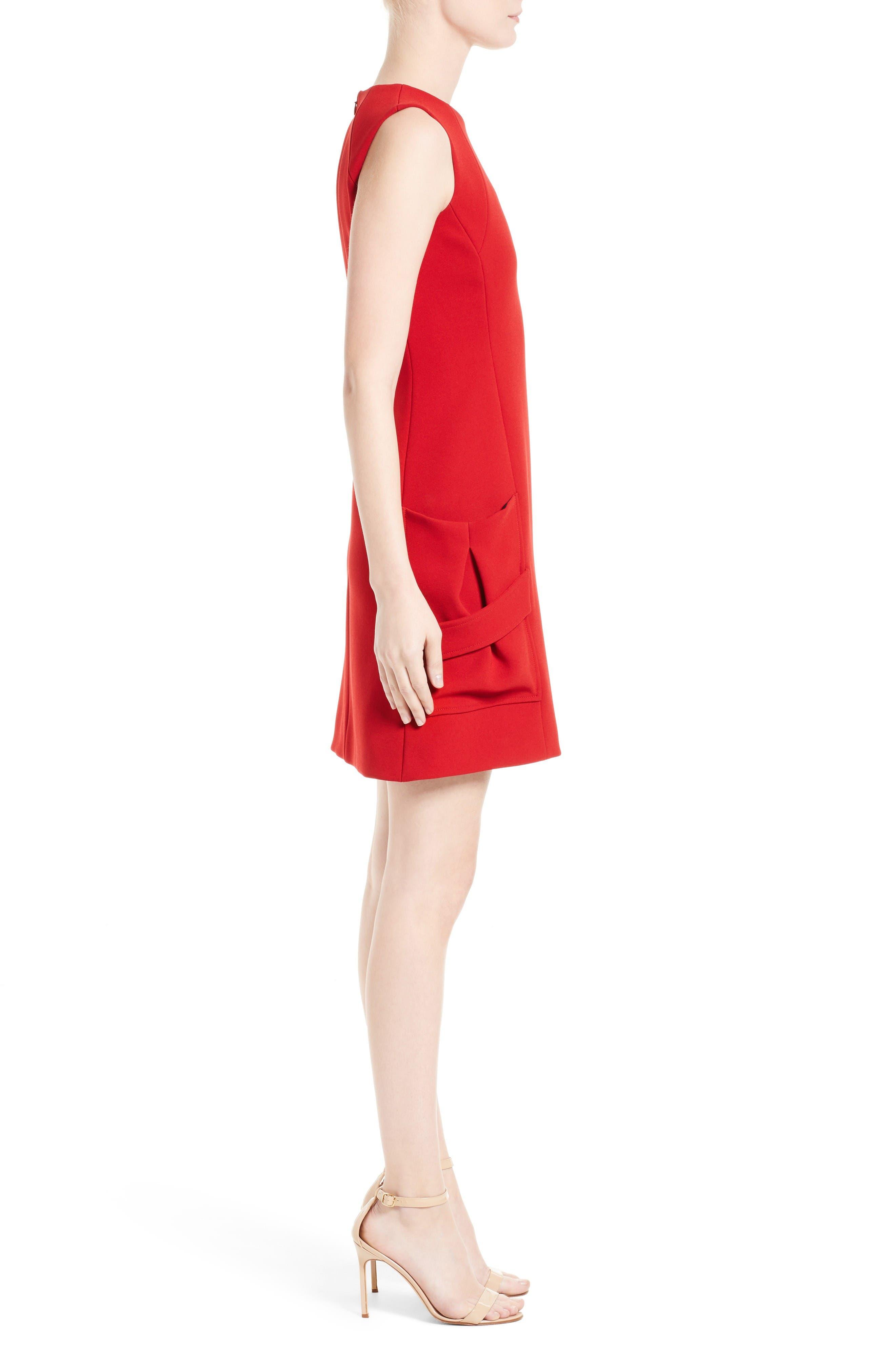 Alternate Image 4  - Victoria Beckham Crepe Minidress