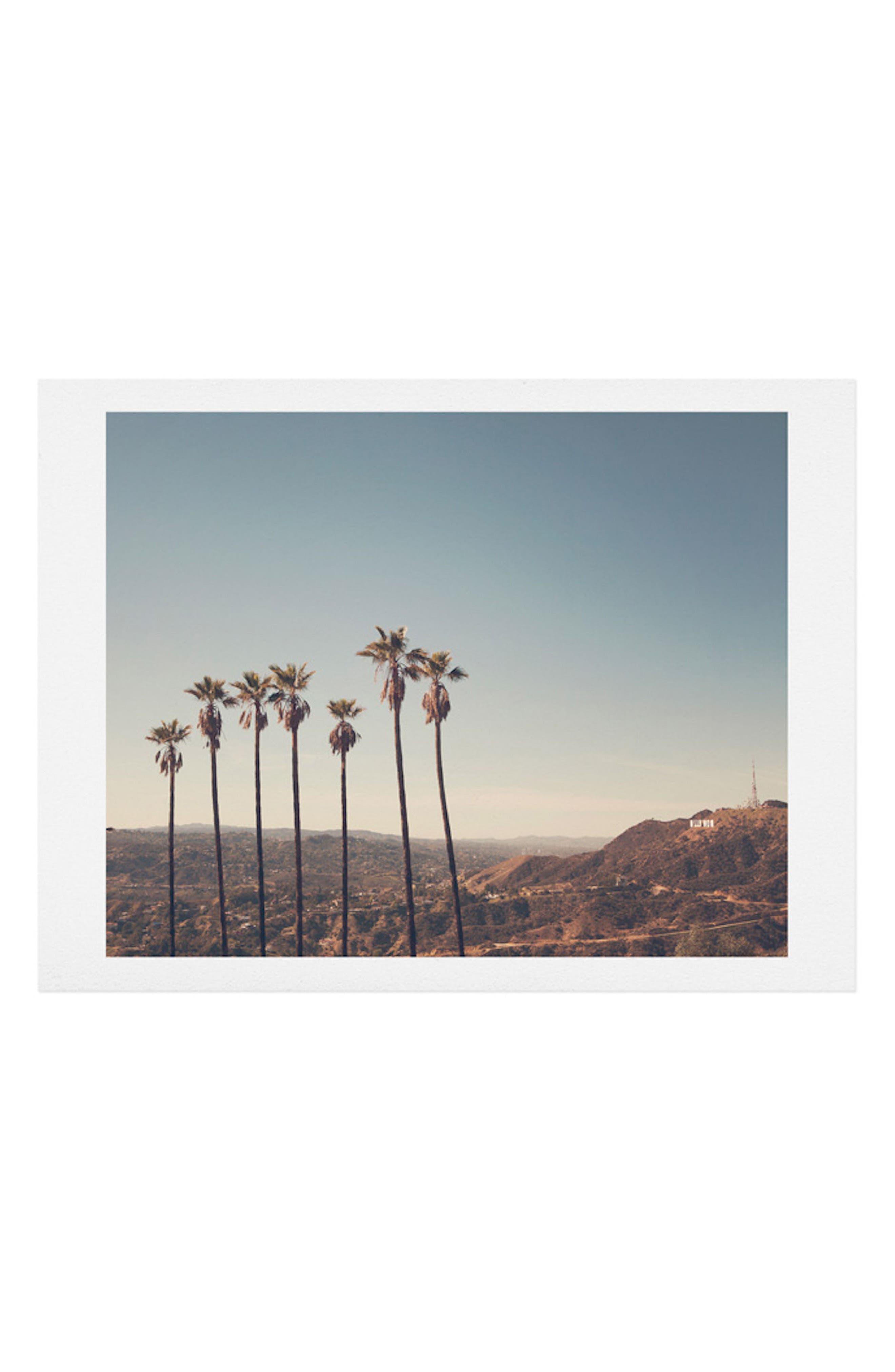 Alternate Image 1 Selected - Deny Designs Hollywood Hills Art Print
