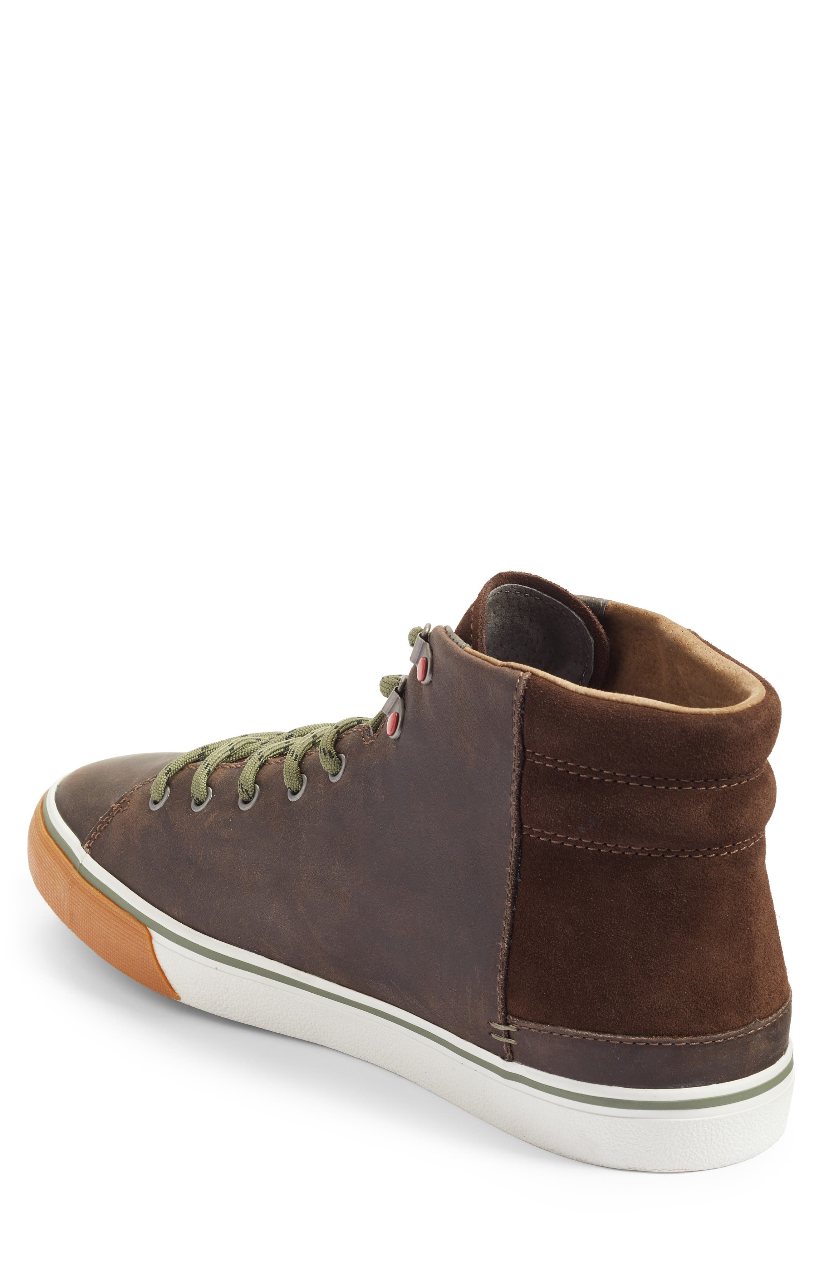 Hoyt High Top Sneaker,                             Alternate thumbnail 2, color,                             Grizzly