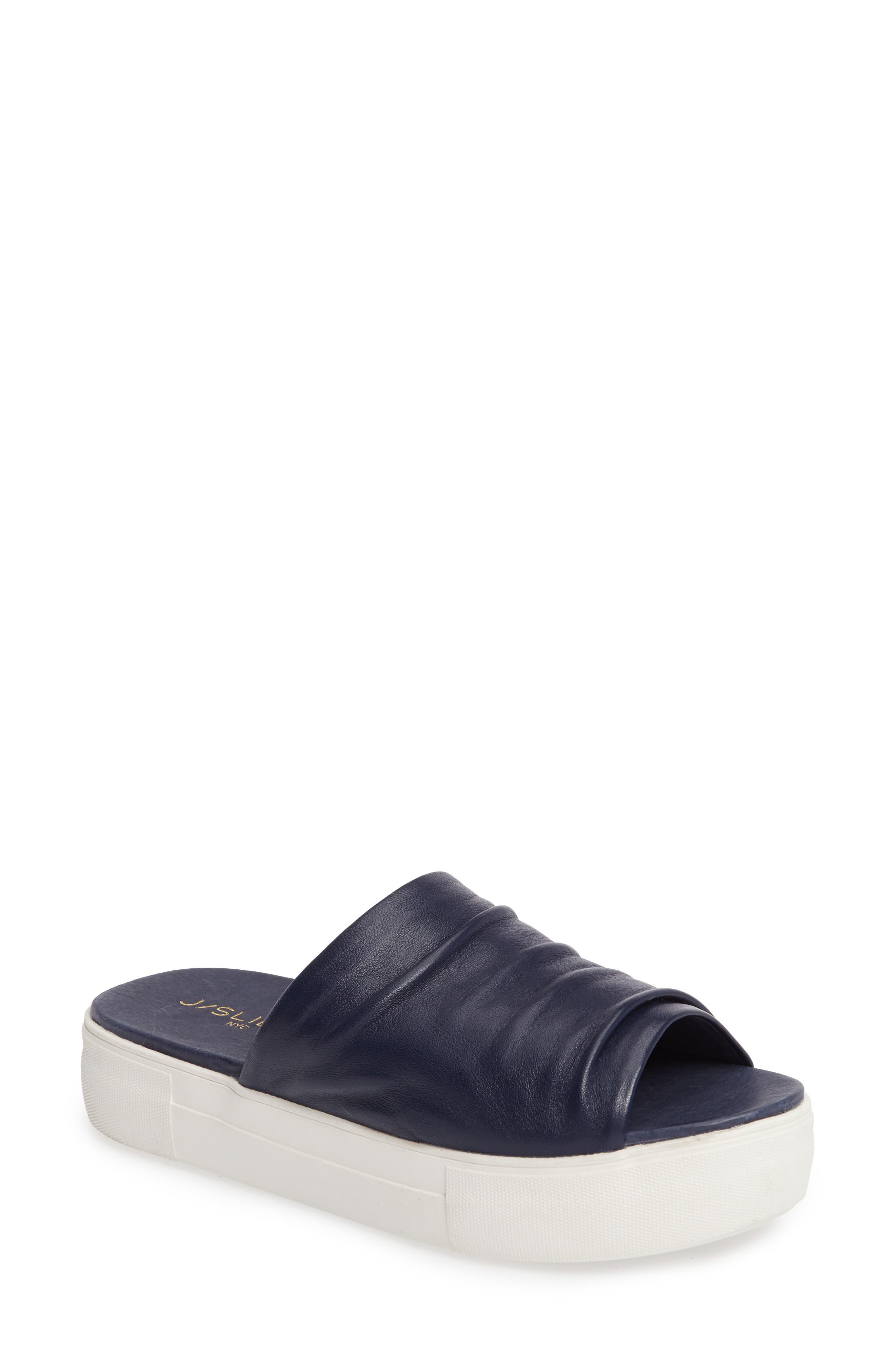 JSLIDES Alura Platform Slide Sandal