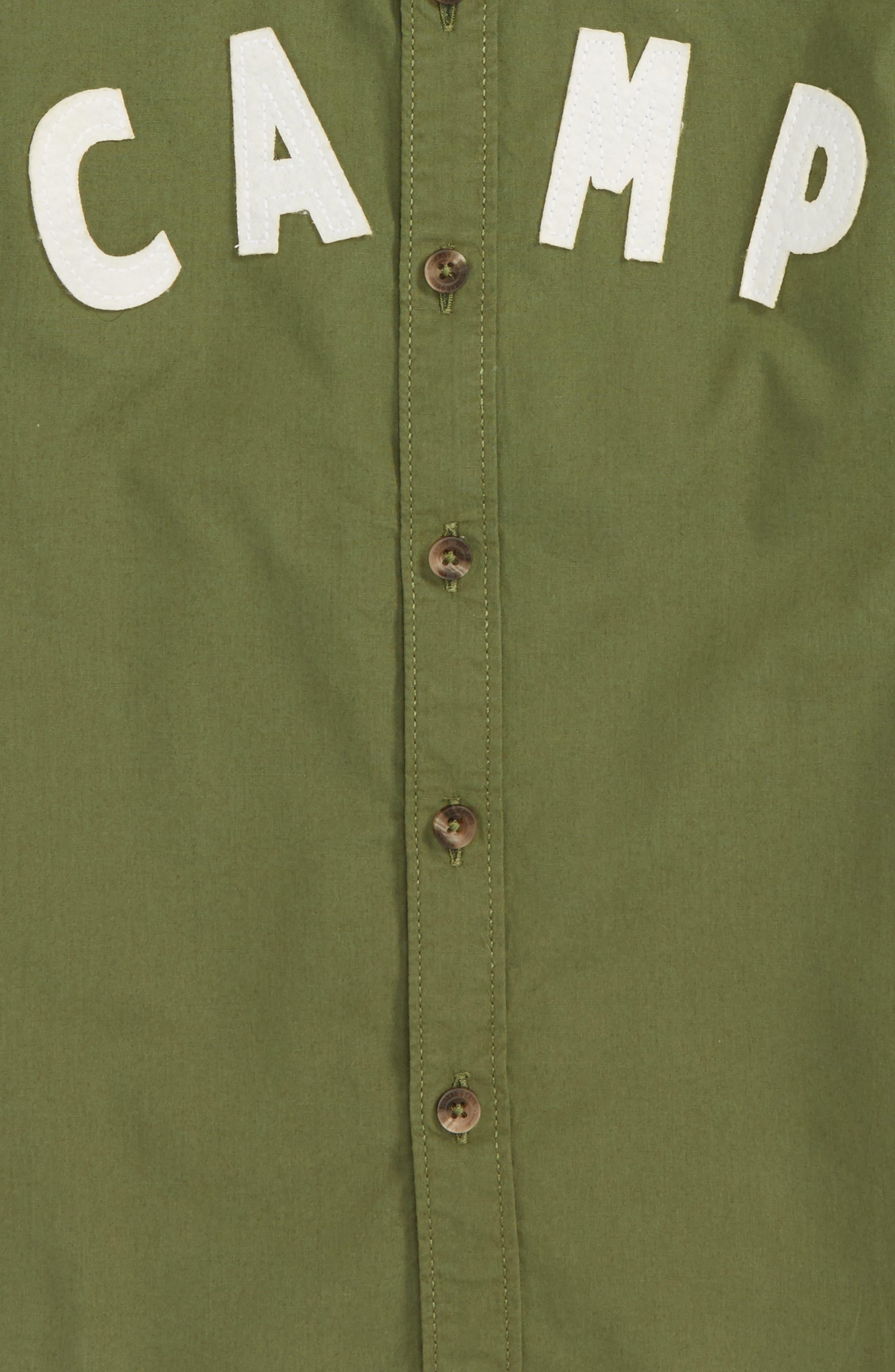 Alternate Image 2  - Tucker + Tate Camp Shirt (Toddler Boys & Little Boys)