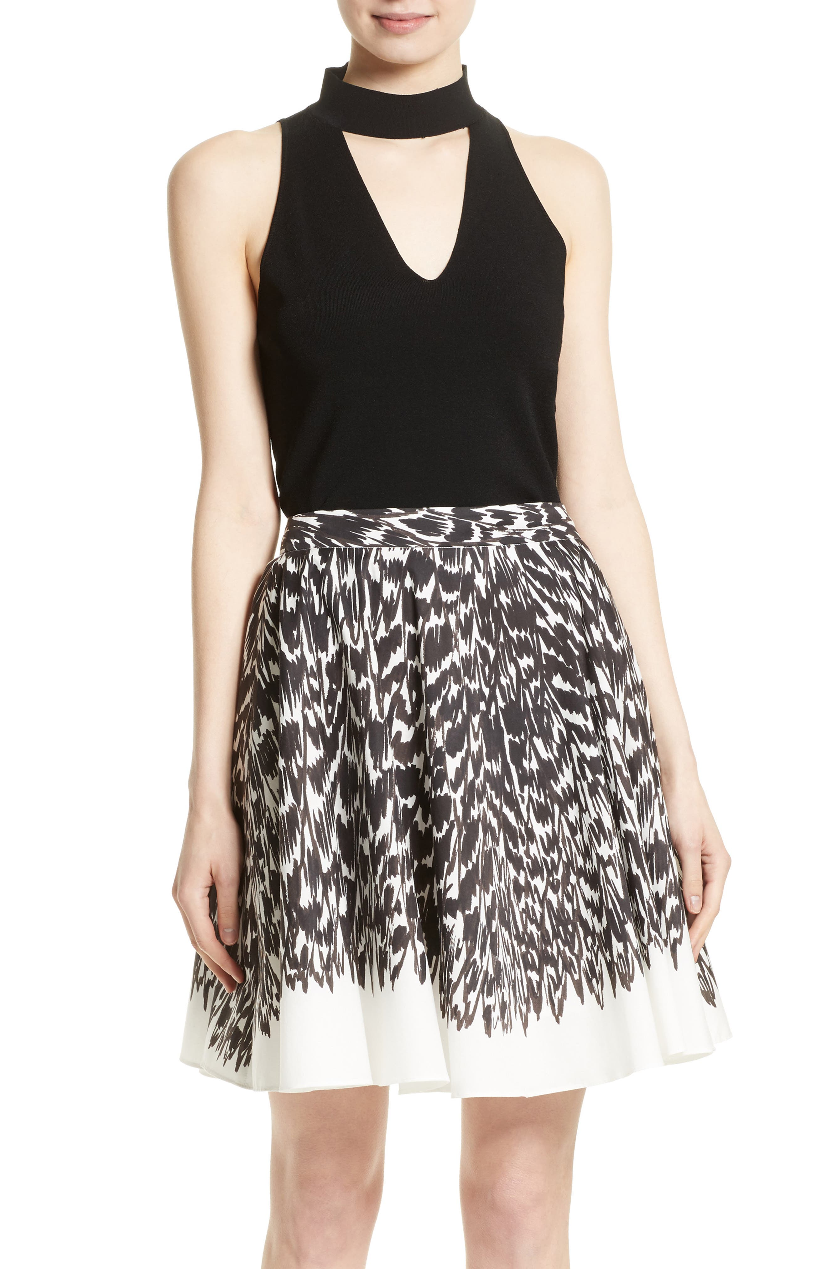 Milly Keyhole Halter Top