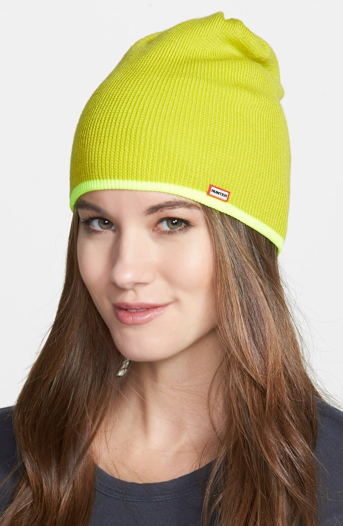 Main Image - Hunter Neon Reversible Beanie