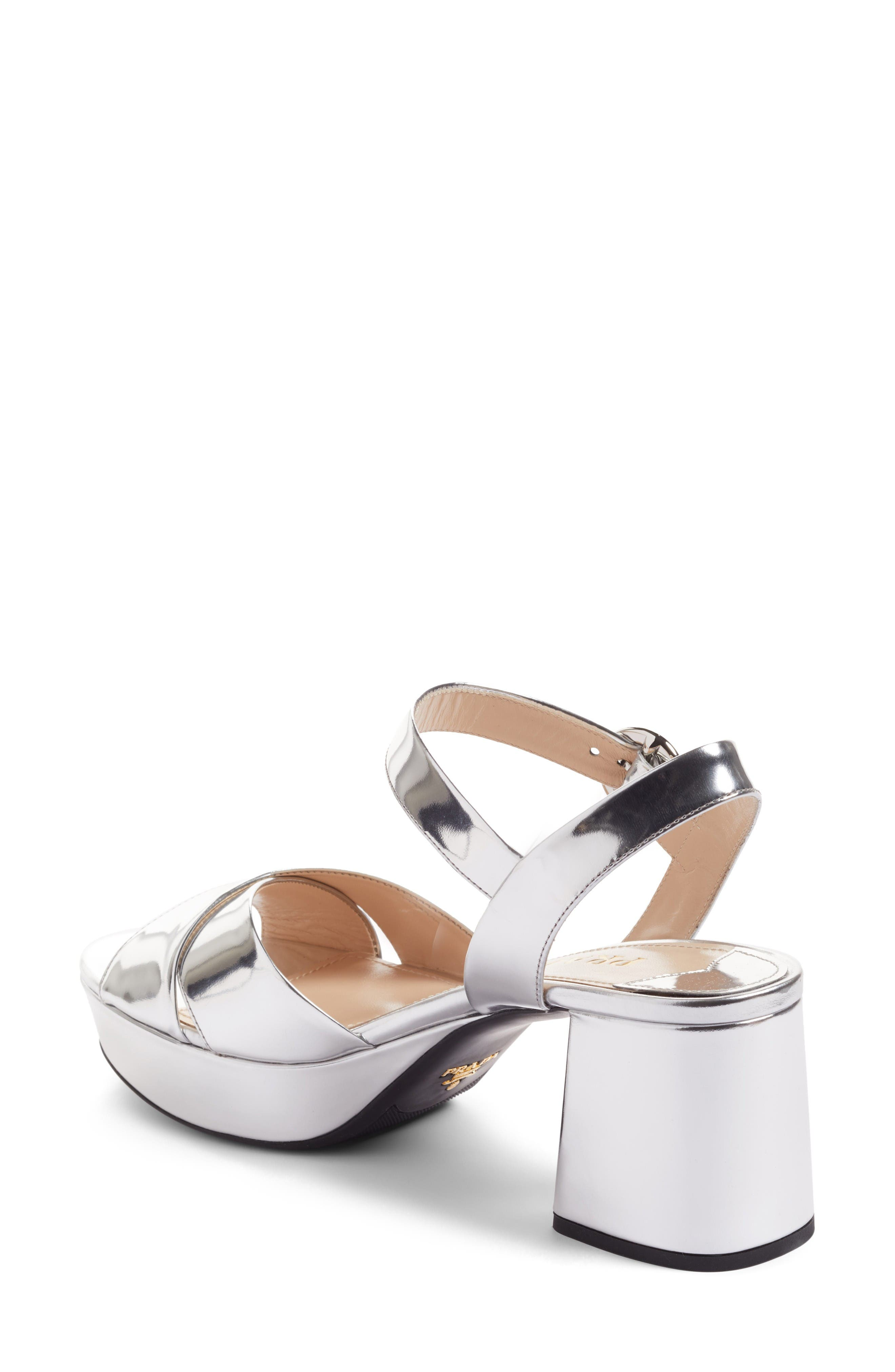 Alternate Image 2  - Prada Strappy Platform Sandal (Women)