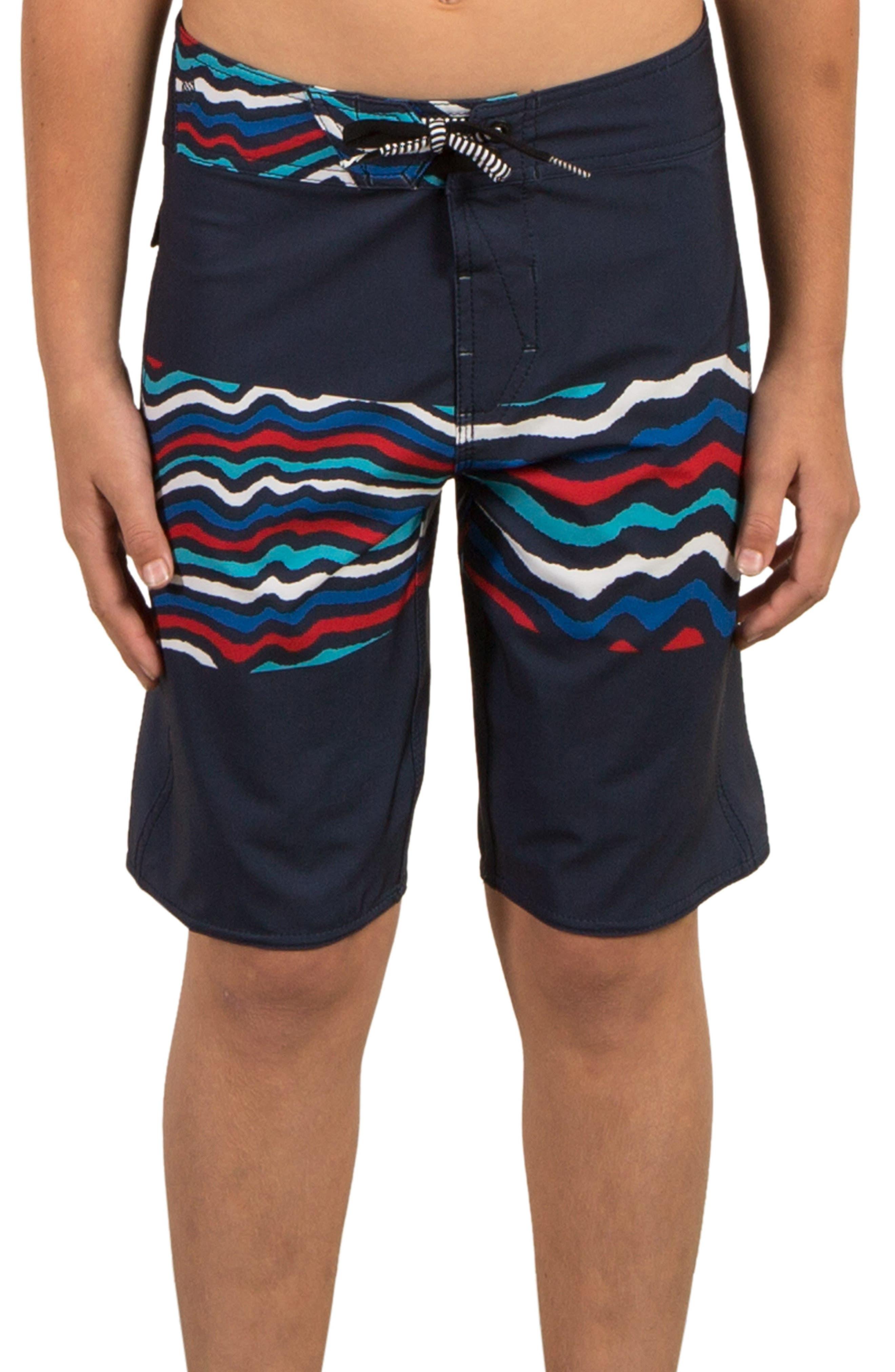 Main Image - Volcom Macaw Mod Board Shorts (Big Boys)