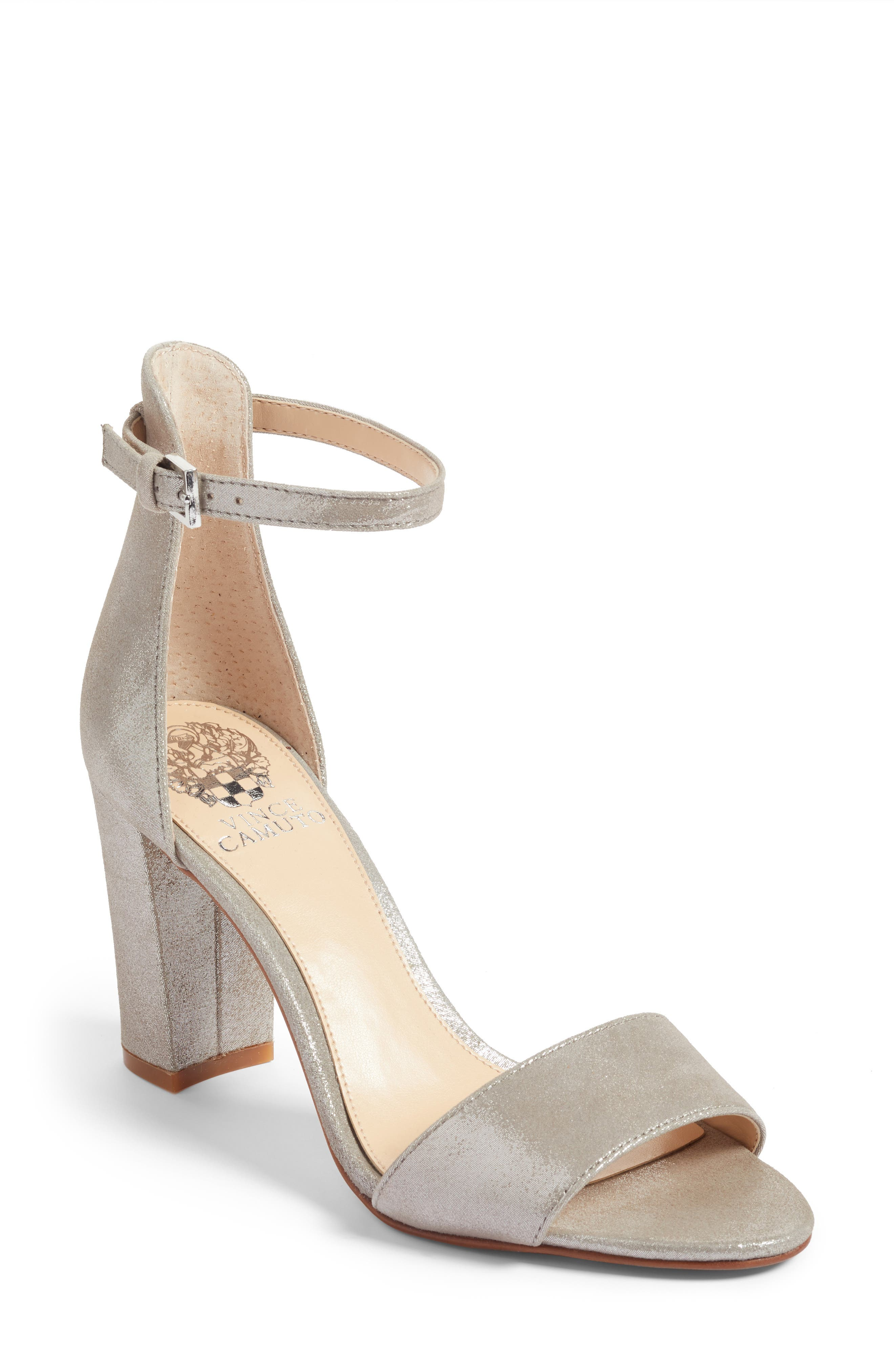 Alternate Image 1 Selected - Vince Camuto Corlina Ankle Strap Sandal (Women) (Nordstrom Exclusive)