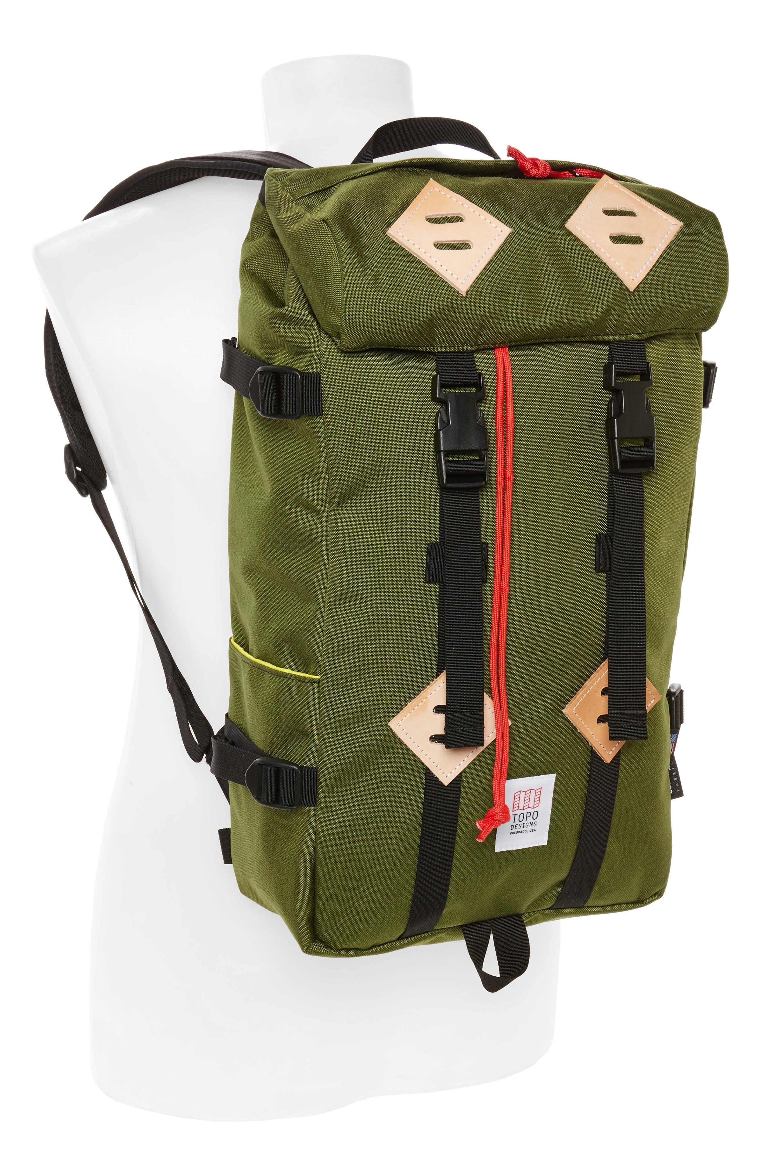 Klettersack Backpack,                             Alternate thumbnail 2, color,                             Olive