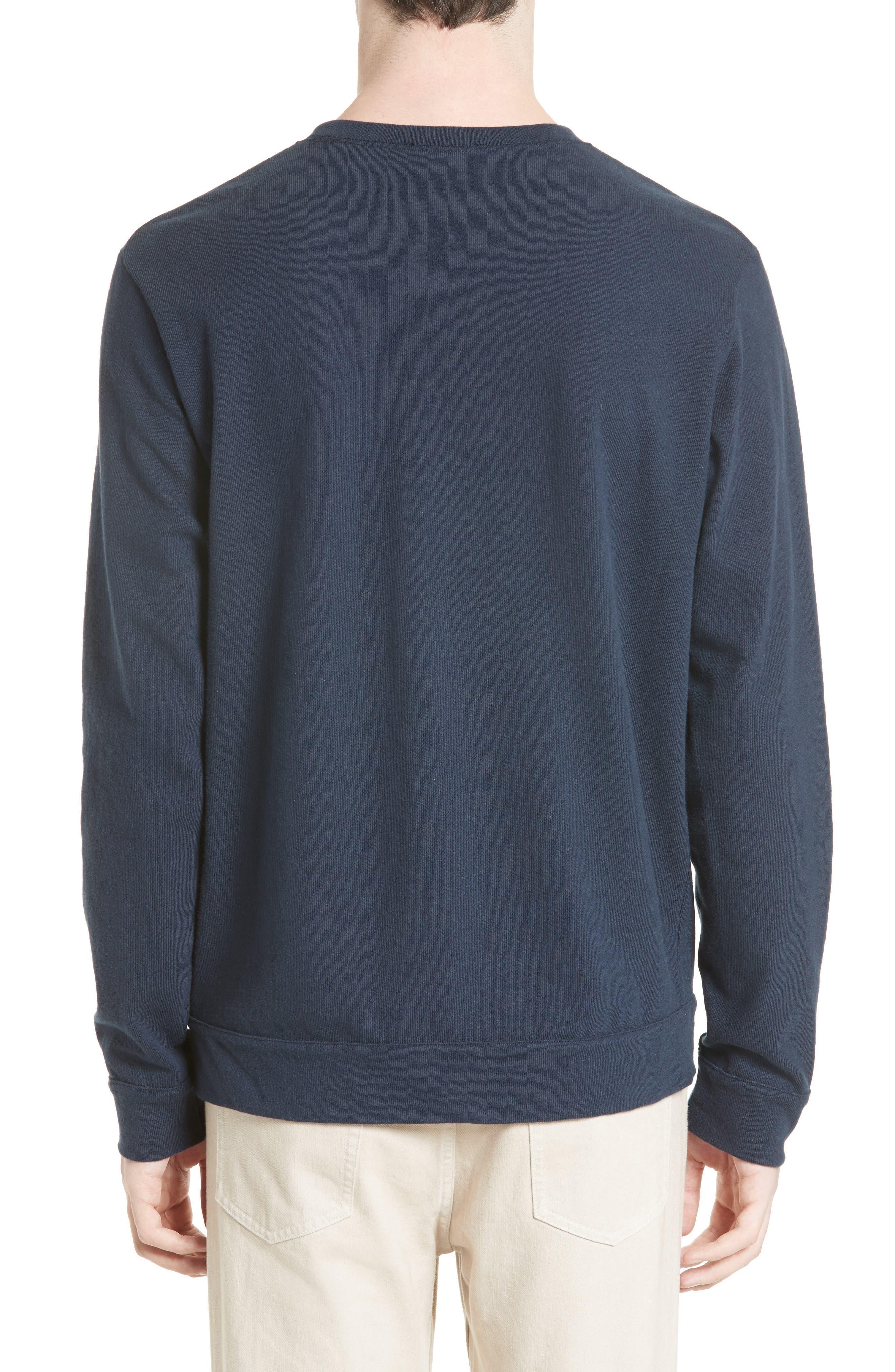 Hike Sweatshirt,                             Alternate thumbnail 2, color,                             Blue
