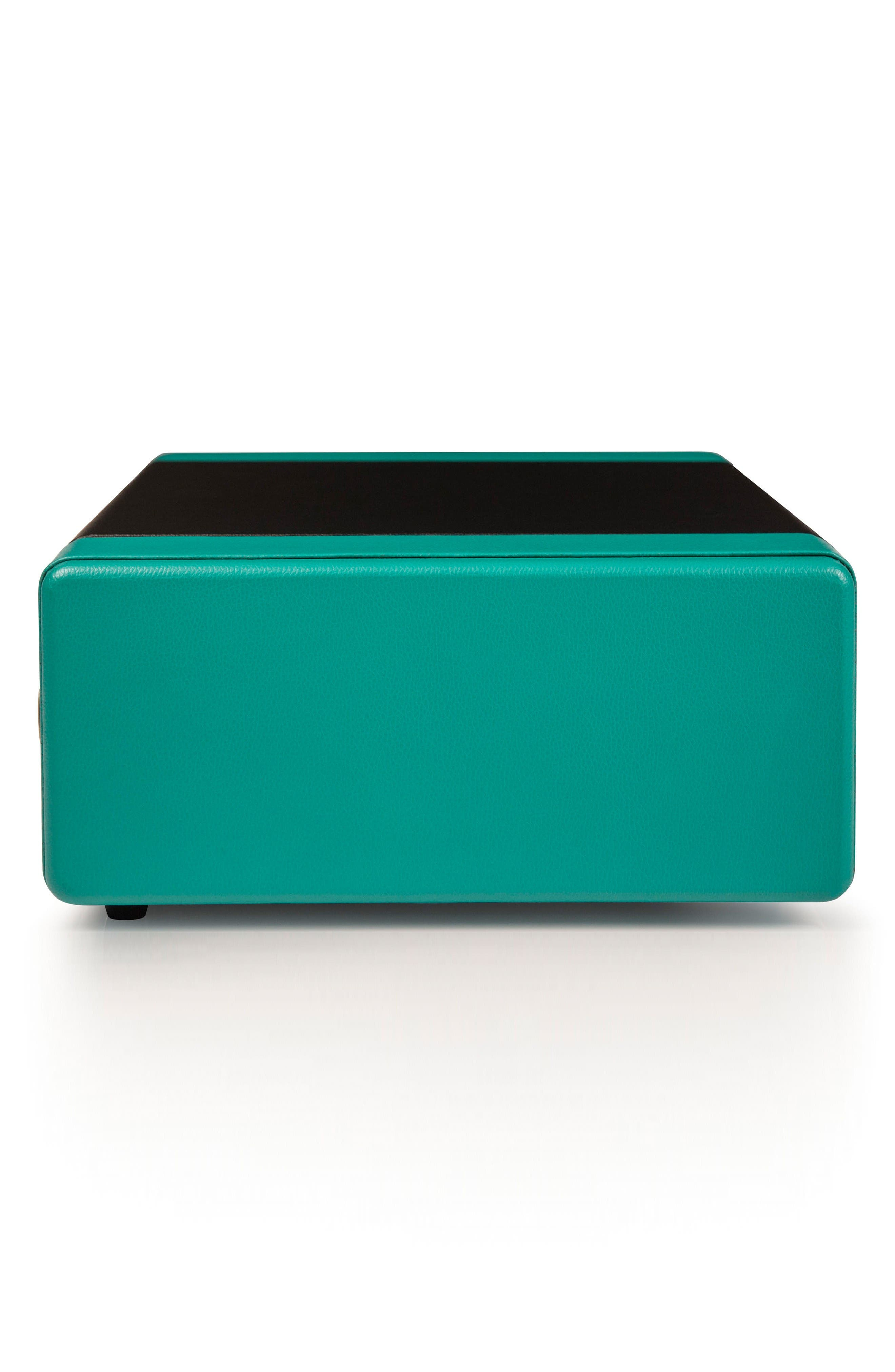 Snap Turntable,                             Alternate thumbnail 4, color,                             Turquoise