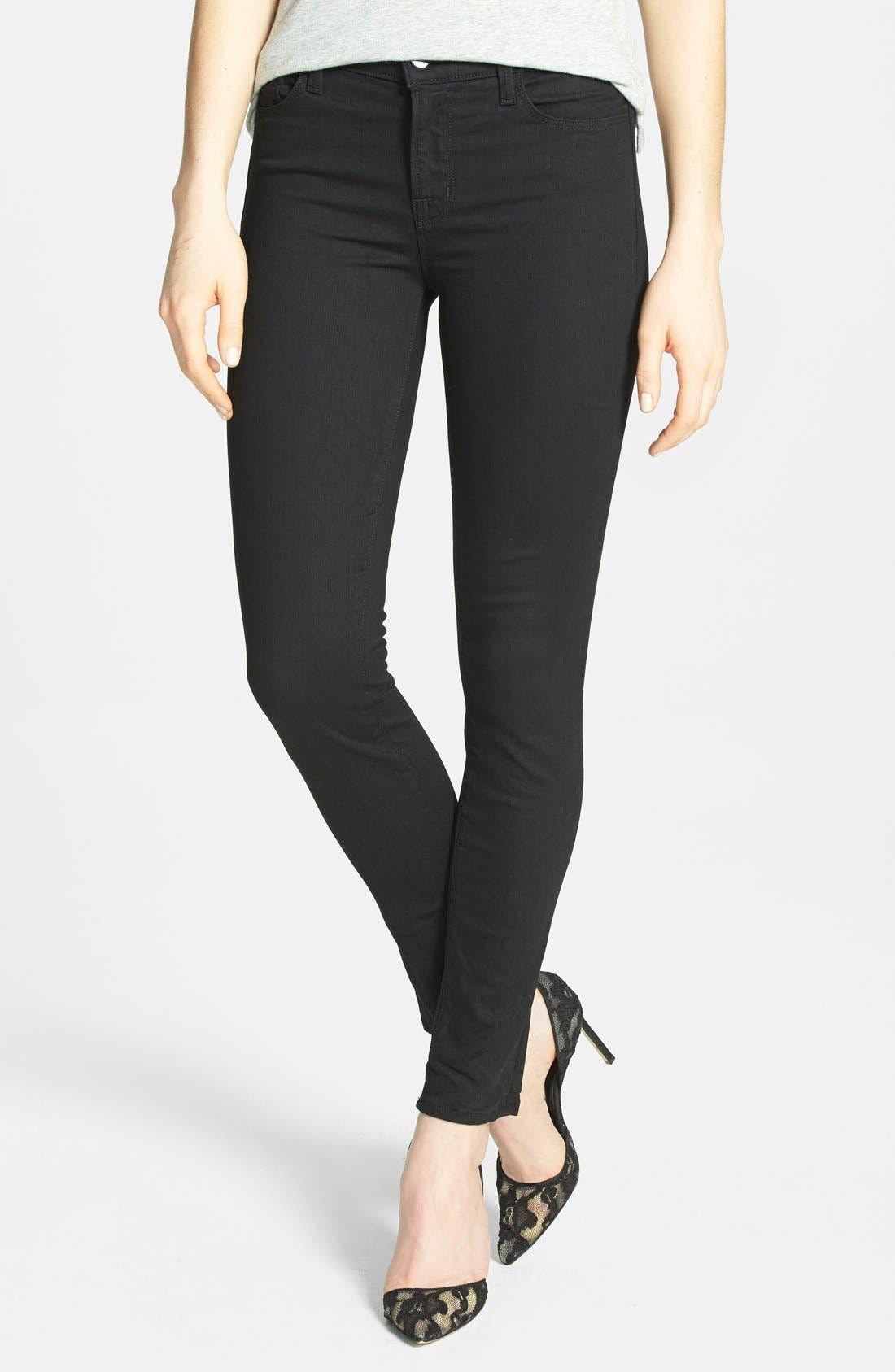 J Brand '811' Mid Rise Skinny Jeans (Vanity)