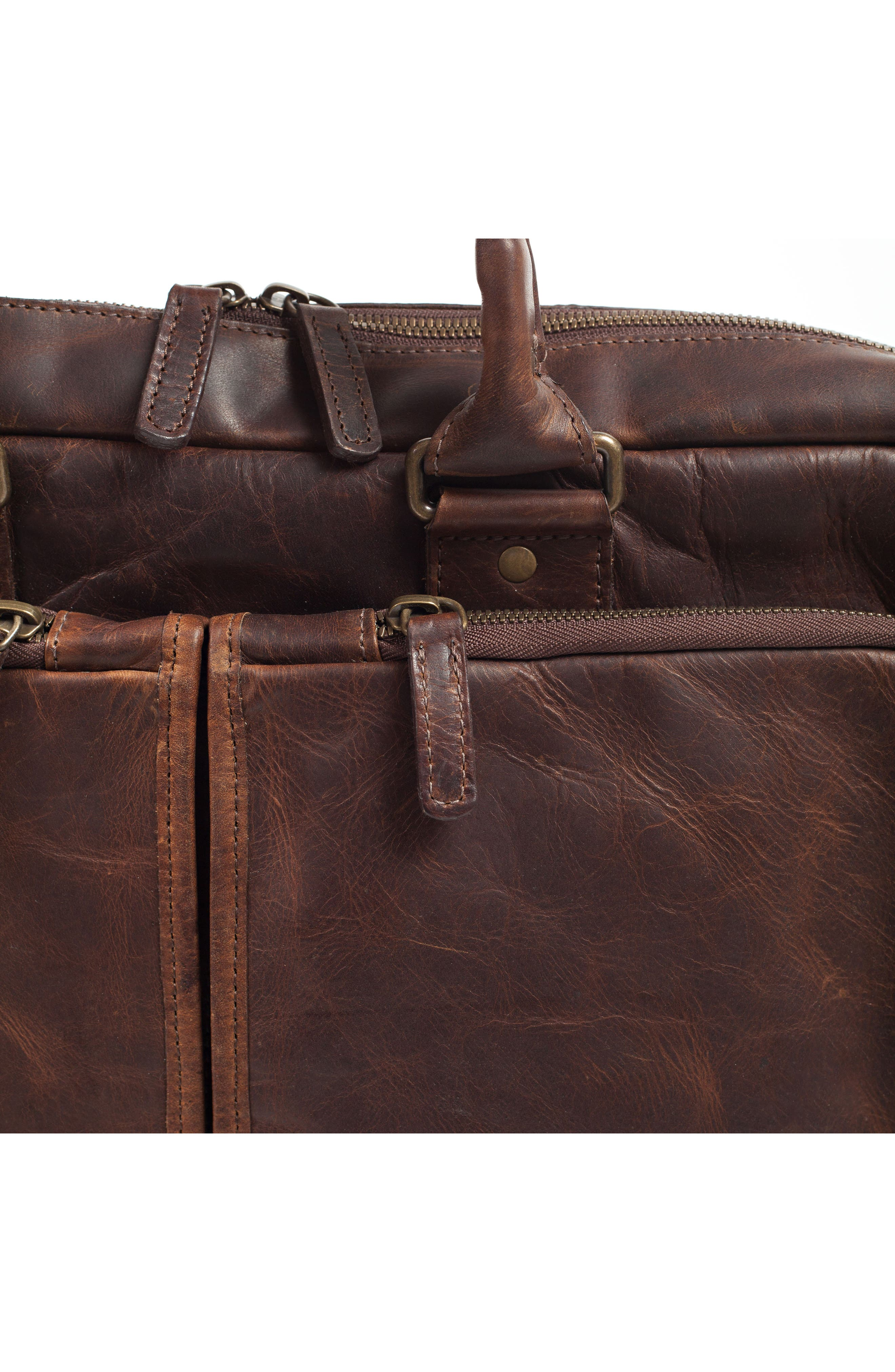 Alternate Image 8  - Moore & Giles Haythe Leather Briefcase