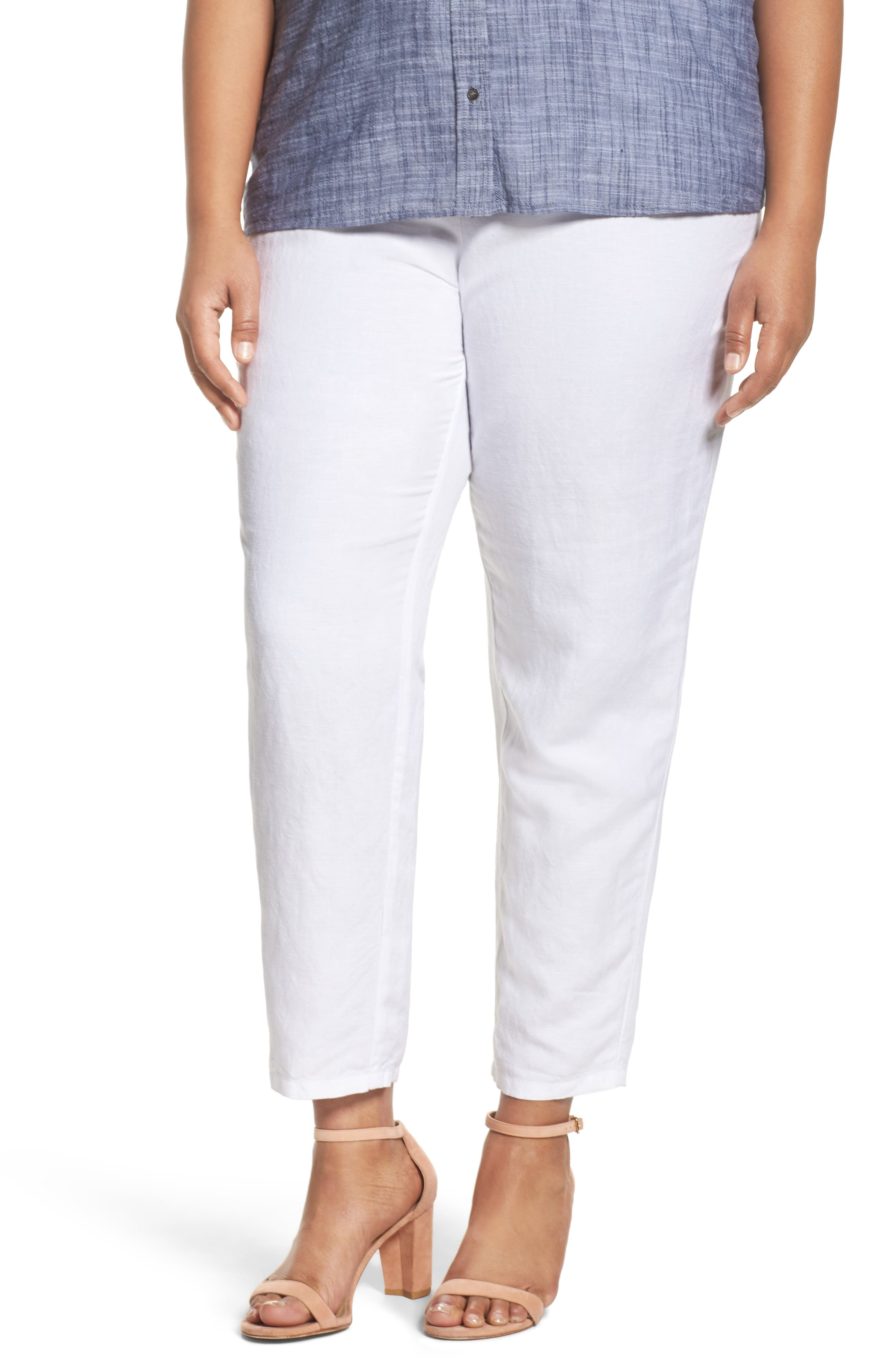 NIC+ZOE Everyday Ankle Pants (Plus Size)