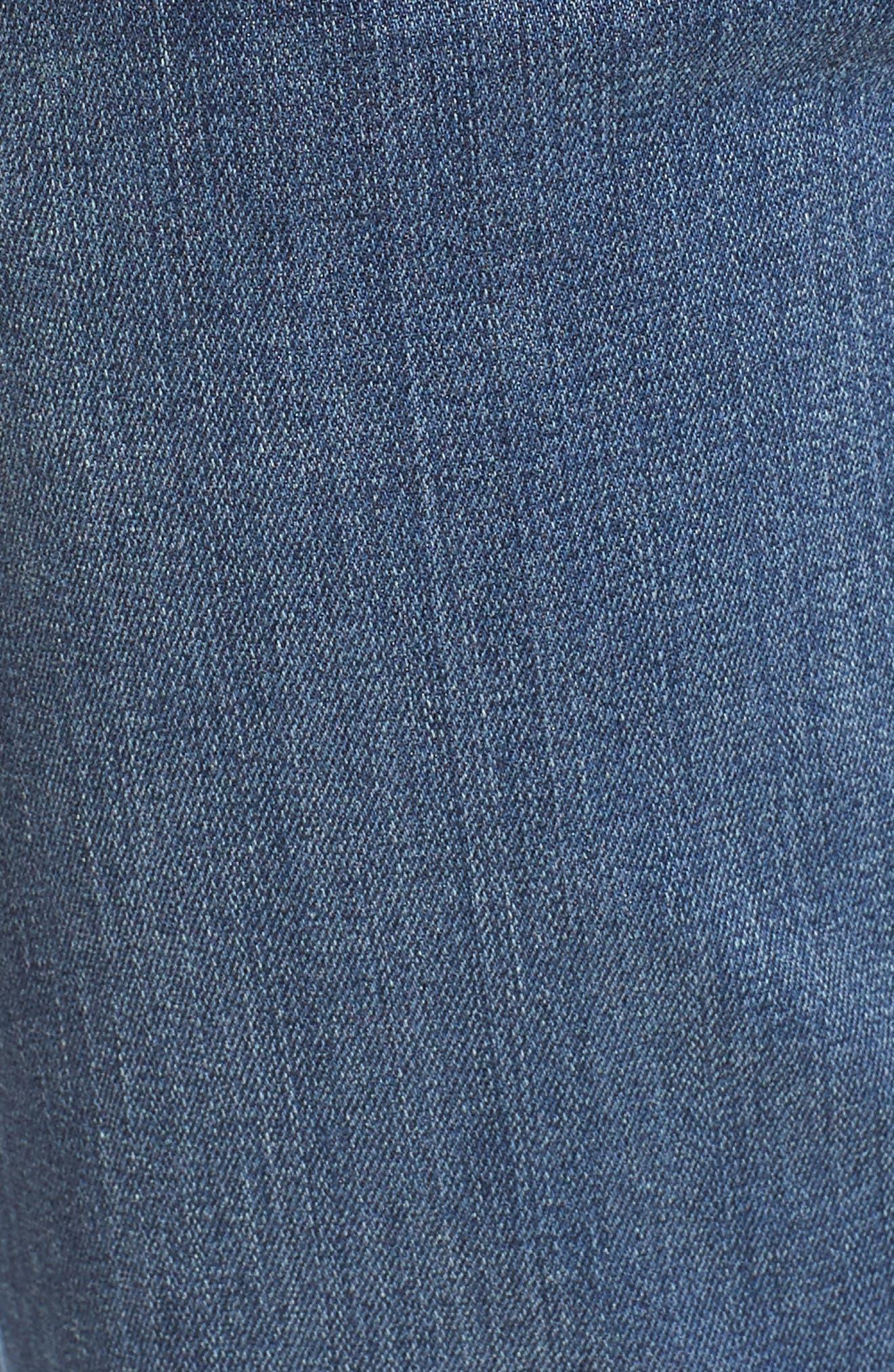 Transcend - Lennox Straight Leg Jeans,                             Alternate thumbnail 6, color,                             Leo