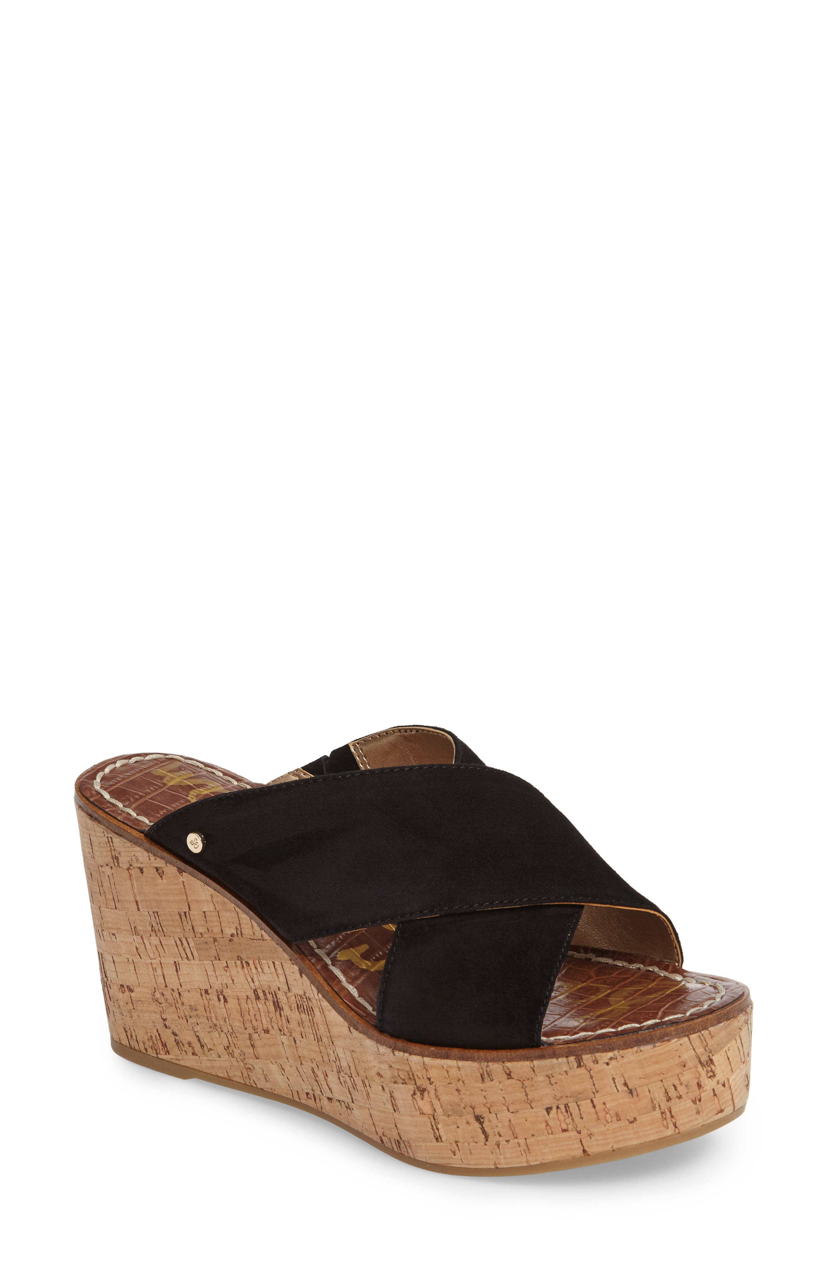 Alternate Image 1 Selected - Sam Edelman Darlene Platform Wedge Sandal (Women)