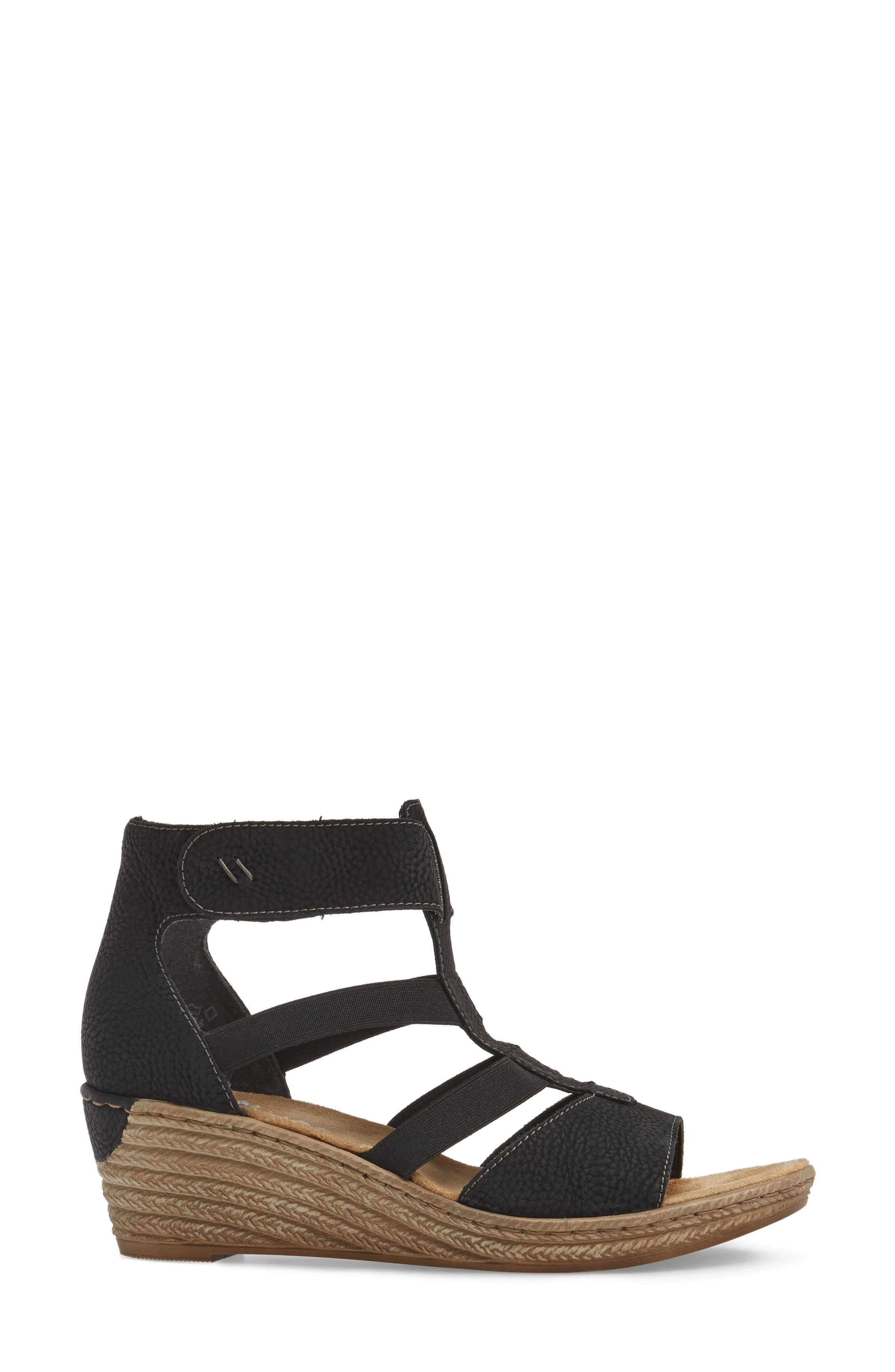 Alternate Image 3  - Rieker Antistress Fanni 39 Wedge Sandal (Women)
