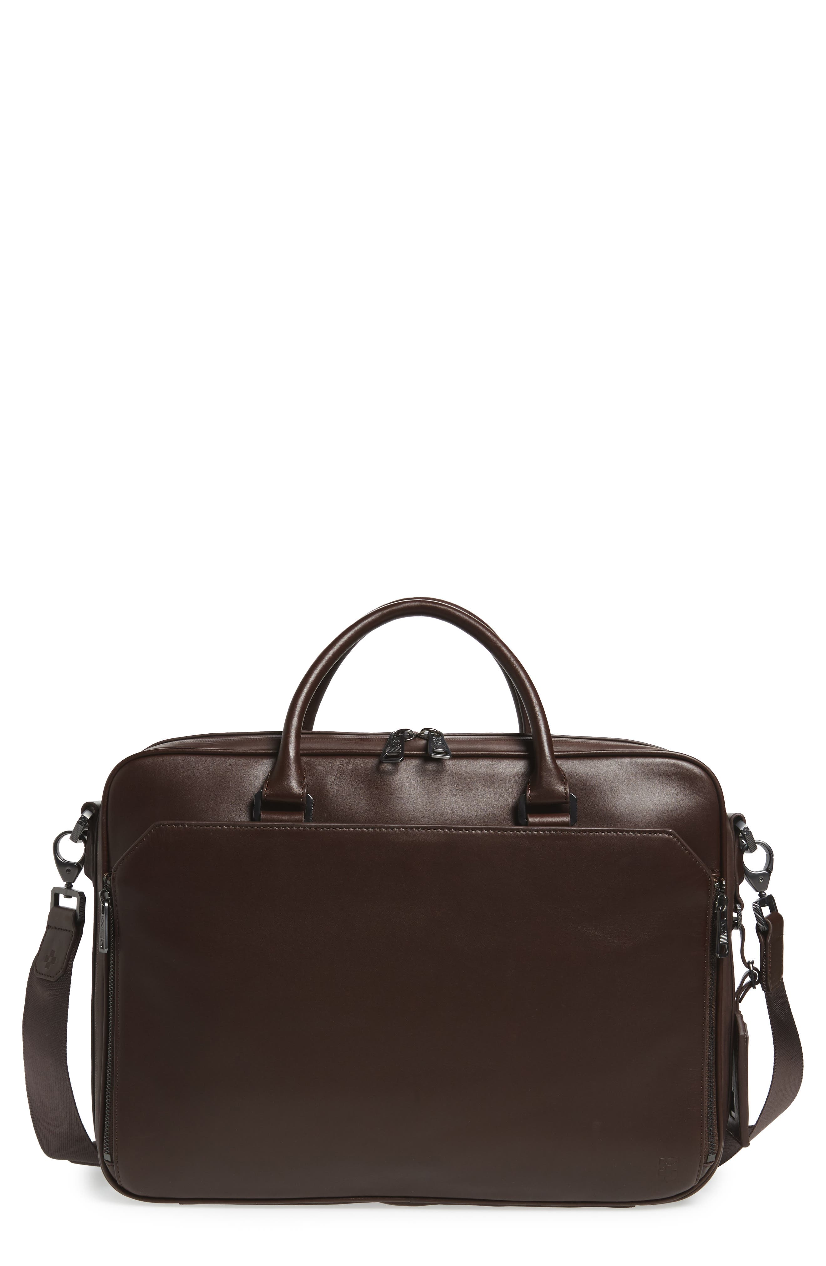 Vince Camuto Turin Leather Briefcase