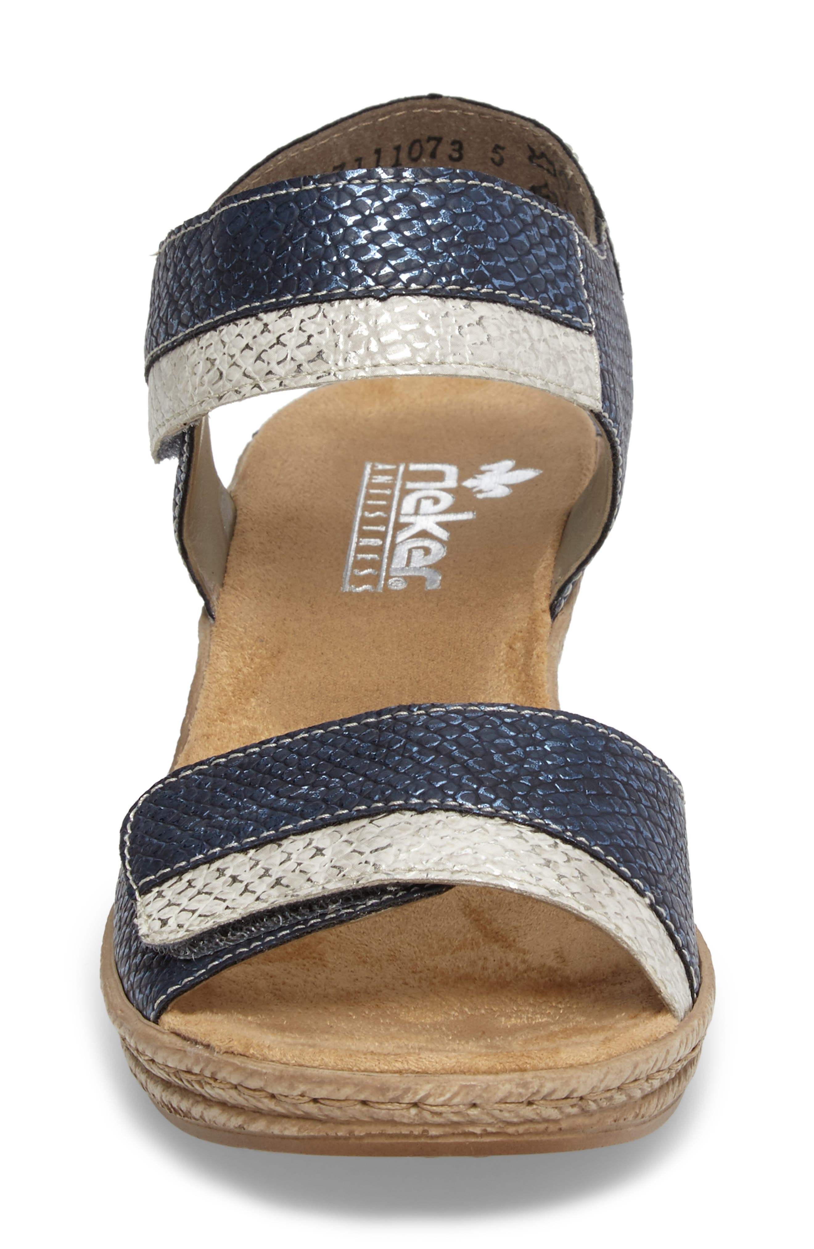 Alternate Image 4  - Rieker Antistress Fanni 70 Wedge Sandal (Women)