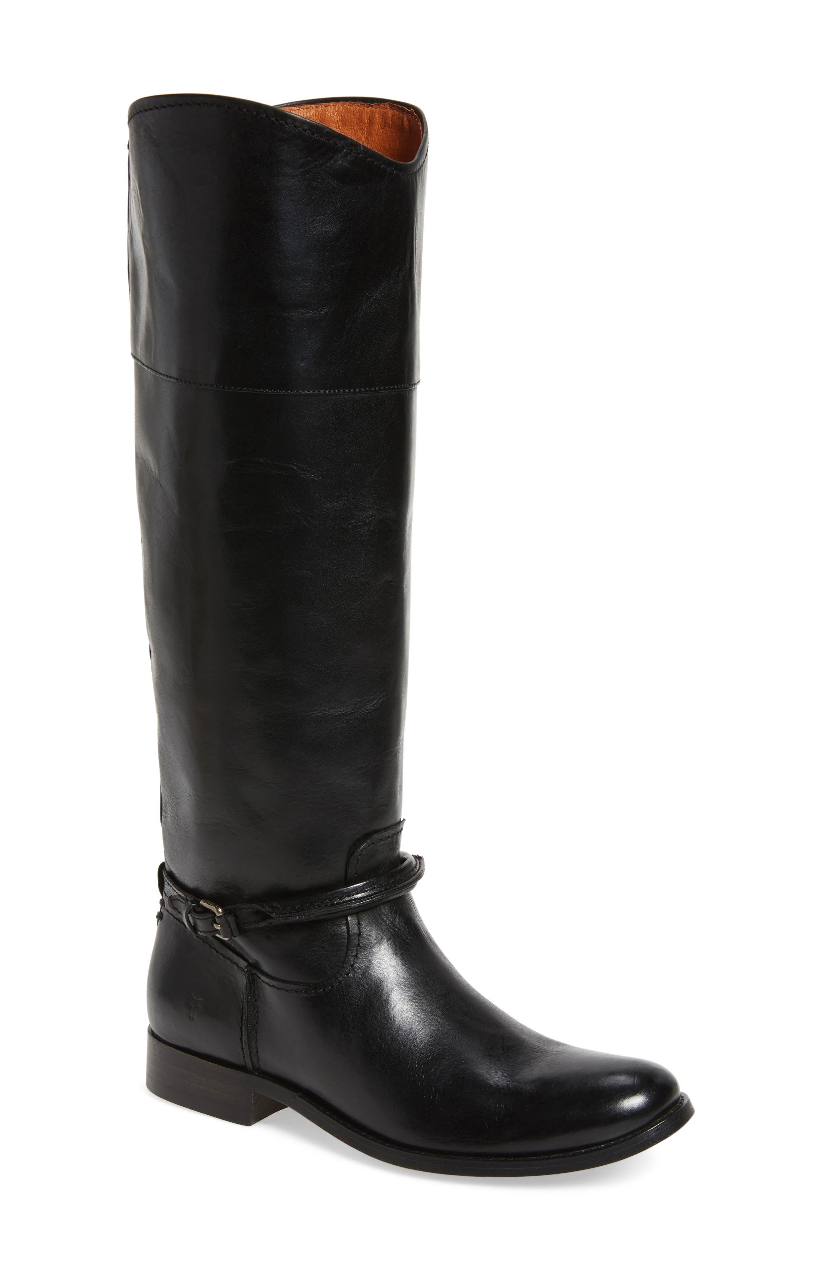 Frye Melissa Seam Boot (Women) (Wide Calf)