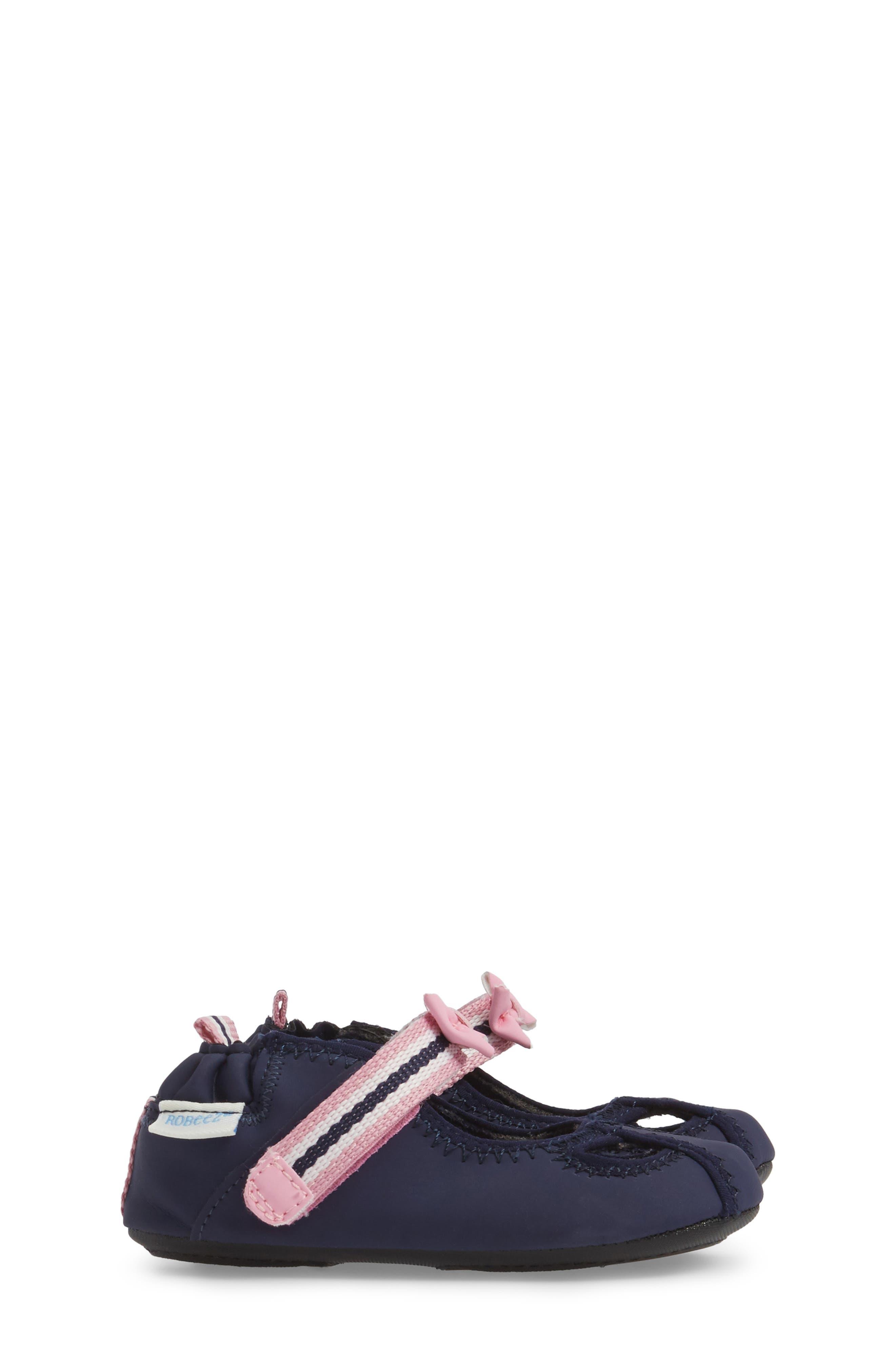 Wave Catcher Crib Shoe,                             Alternate thumbnail 3, color,                             Navy