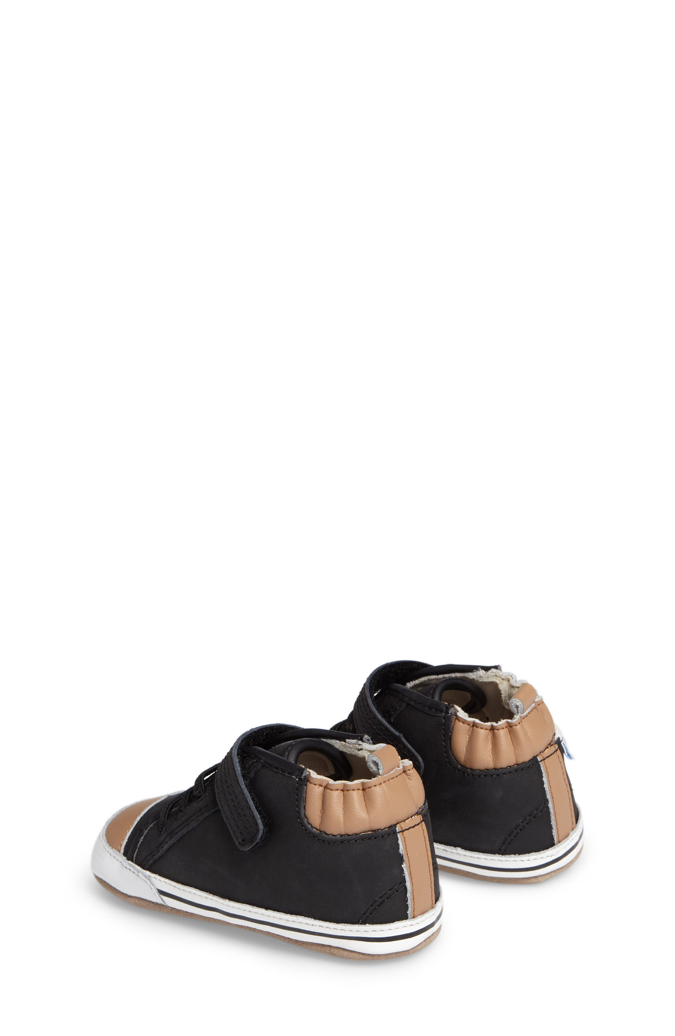 Alternate Image 2  - Robeez® Brandon Crib Shoe (Baby & Walker)