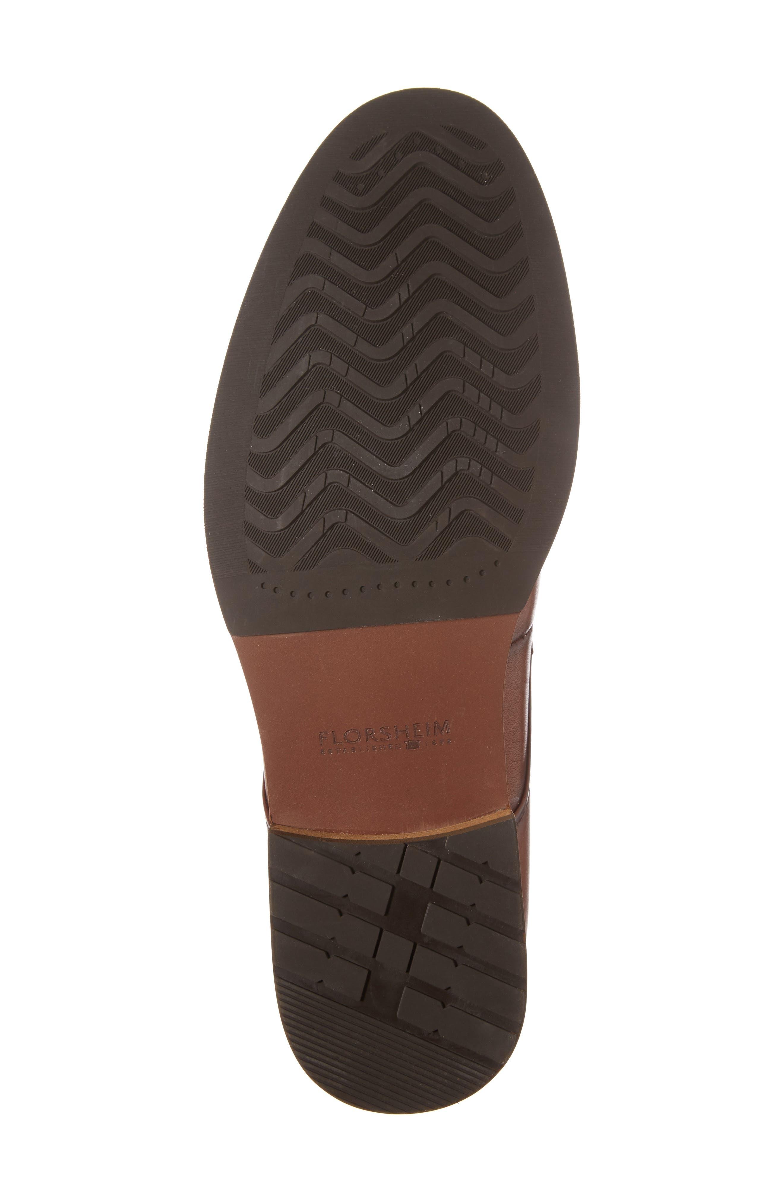 Blaze Plain Toe Derby,                             Alternate thumbnail 6, color,                             Cognac Leather