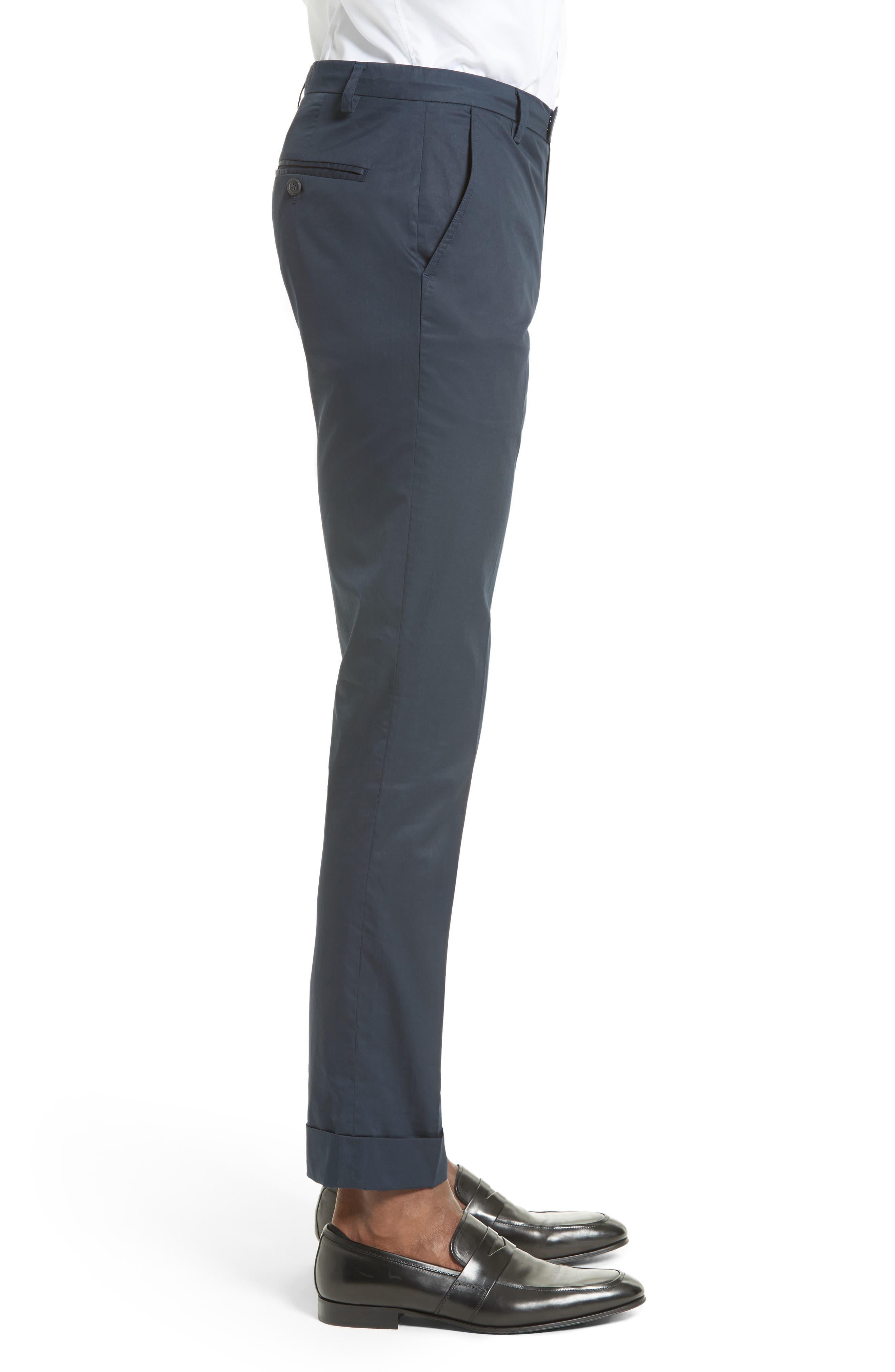 Alternate Image 3  - ATM Anthony Thomas Melillo Cuffed Cotton Poplin Pants