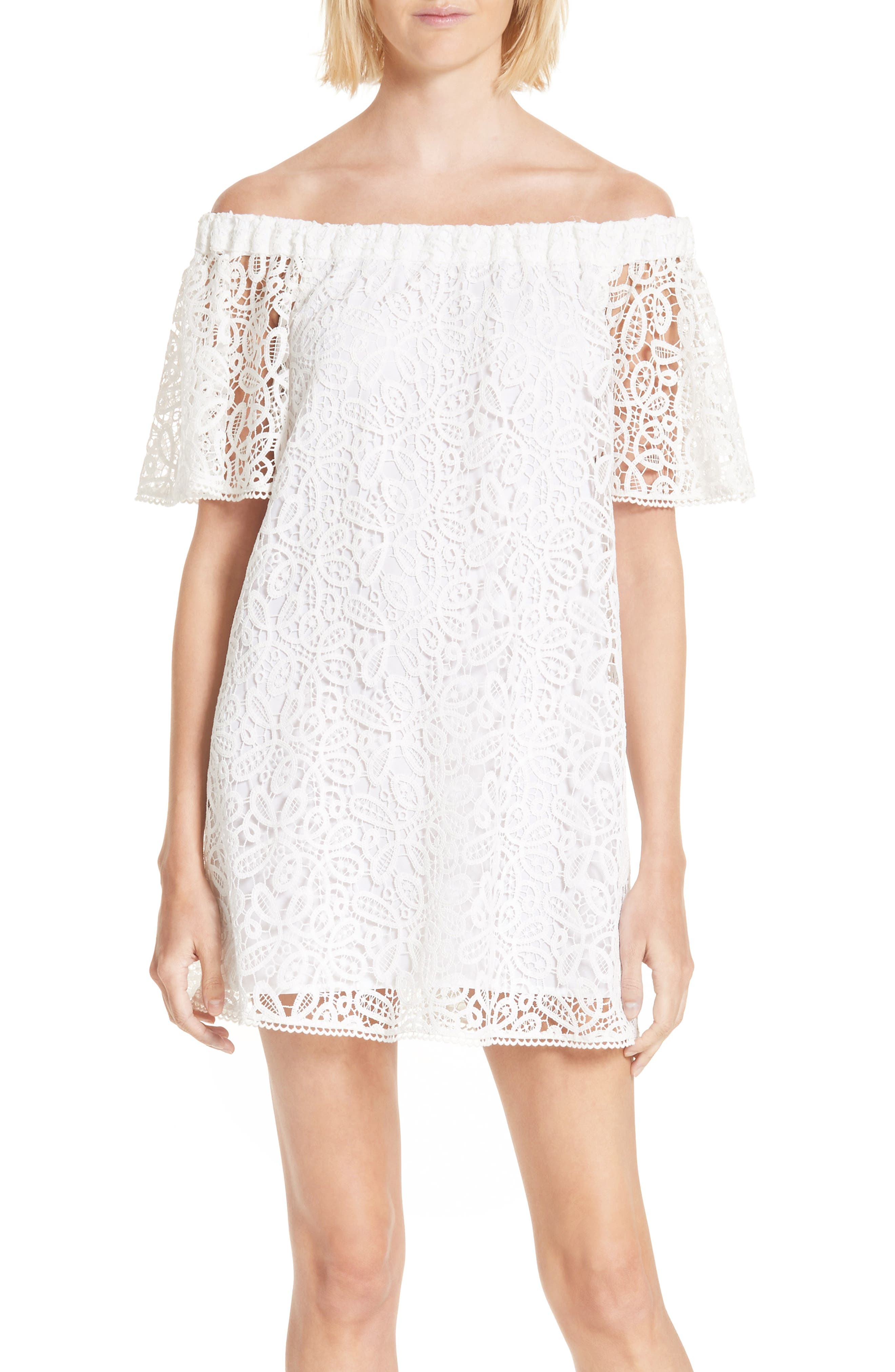 Rebecca Minkoff Morongo Lace Minidress