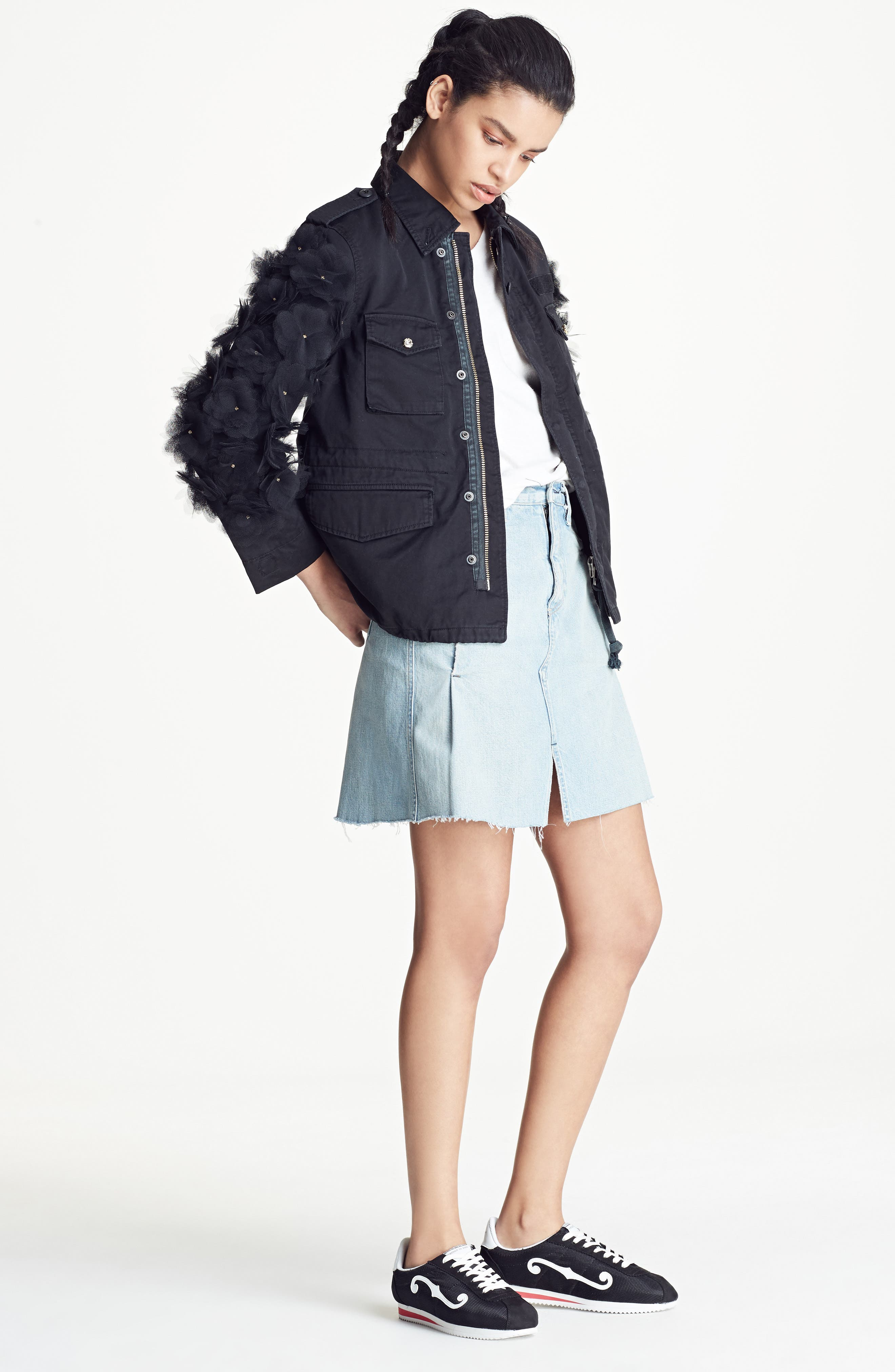 Alternate Image 8  - Simon Miller Denim Skirt (Nordstrom Exclusive)