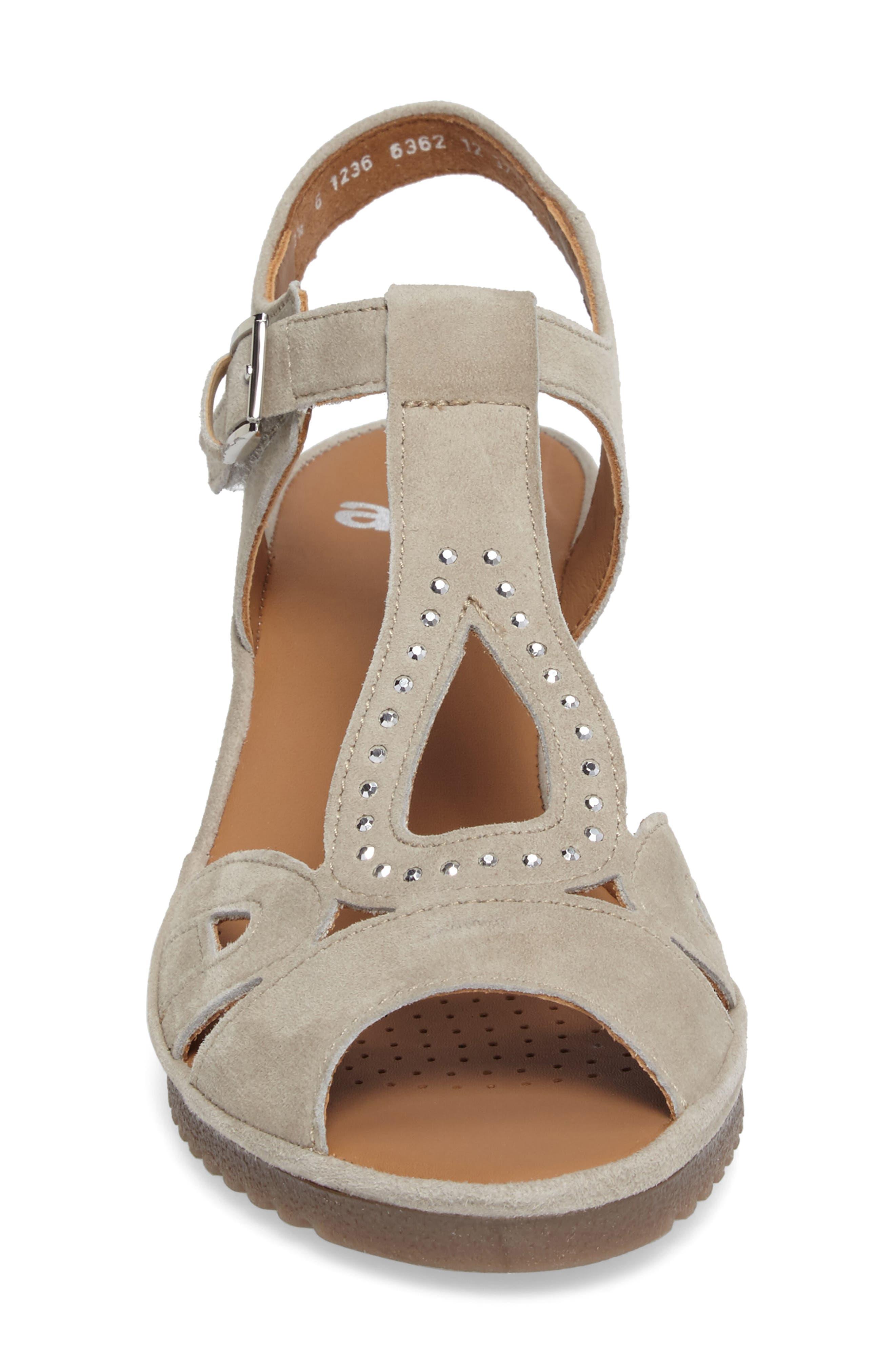 Alternate Image 4  - ara Wedge Sandal (Women)