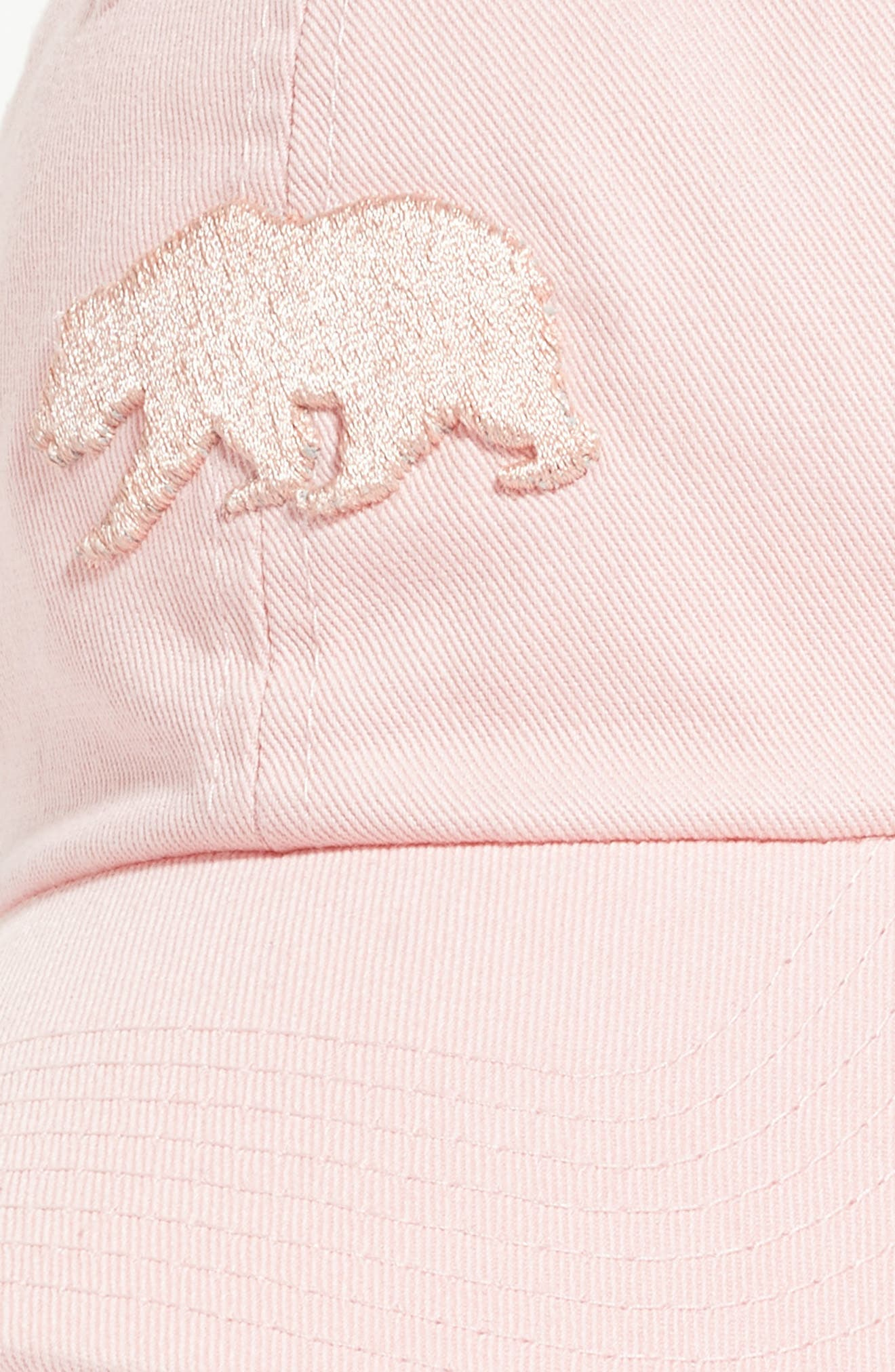 Cali Baseball Cap,                             Alternate thumbnail 2, color,                             Club Pink