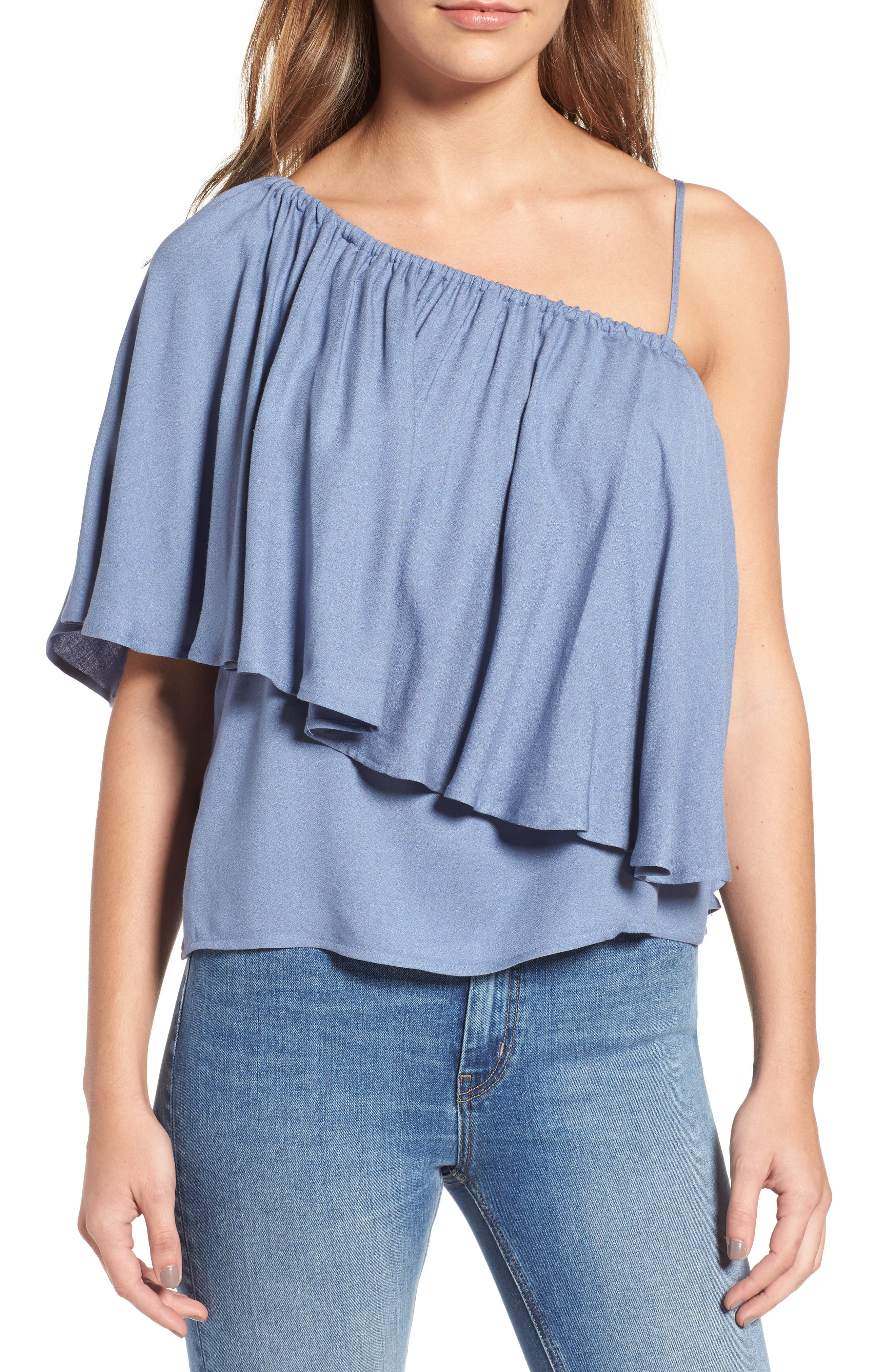 Ella Moss Stella One-Shoulder Top