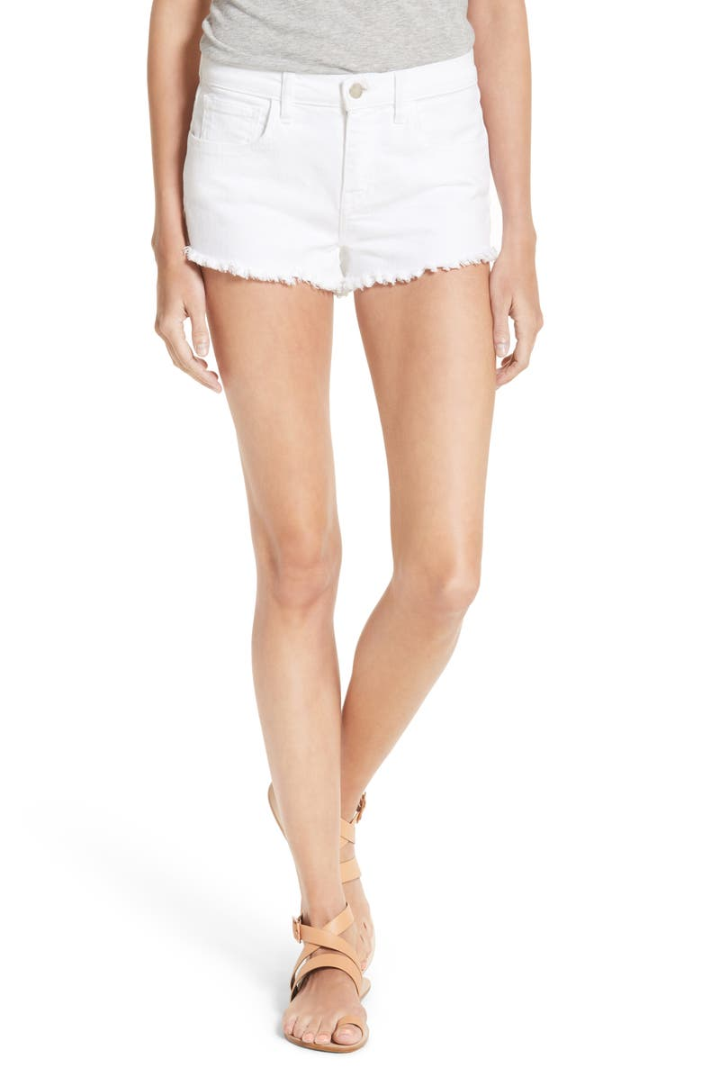 Zoe Cutoff Denim Shorts