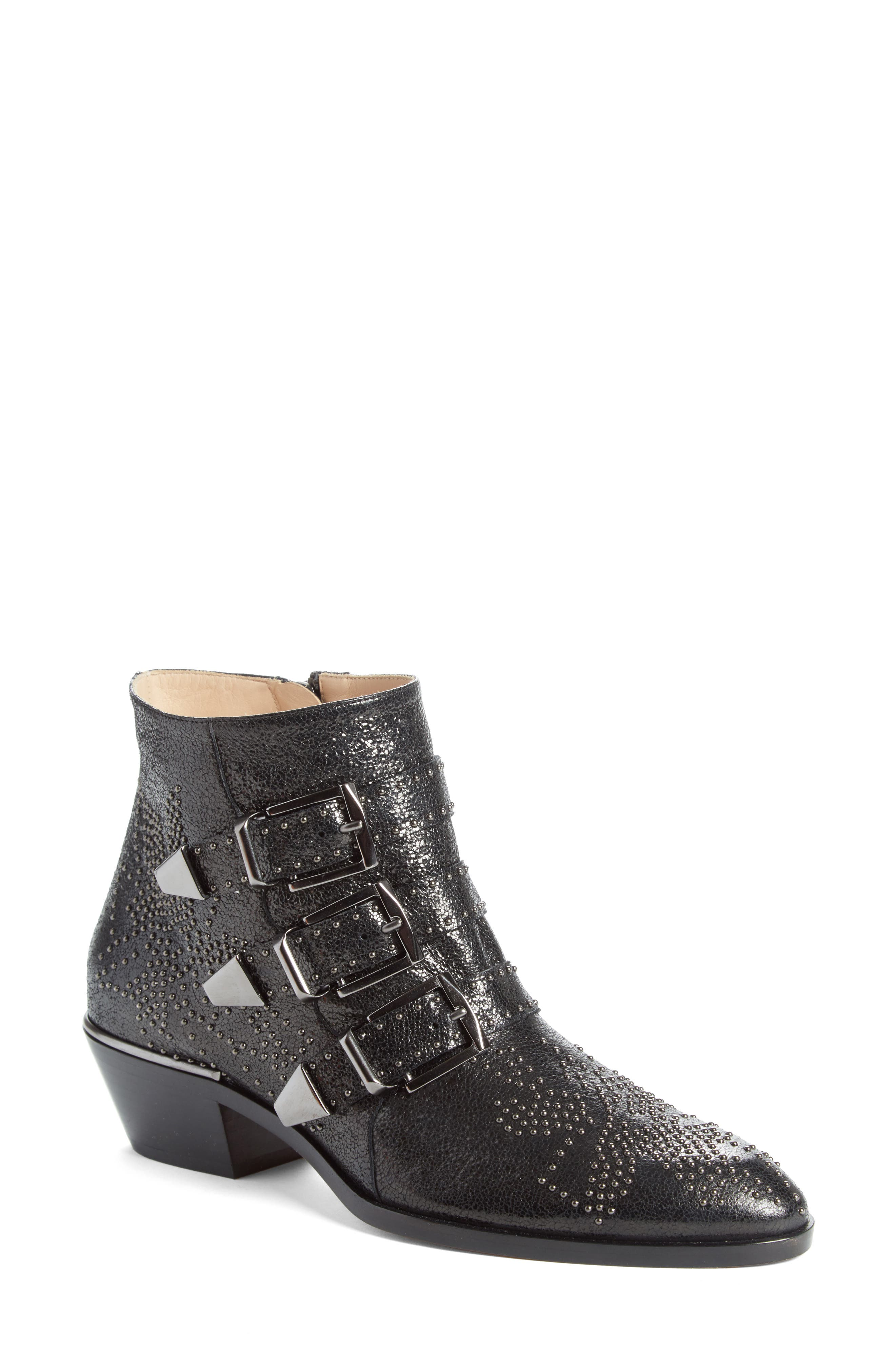 Alternate Image 1 Selected - Chloé Susanna Studded Bootie (Women)