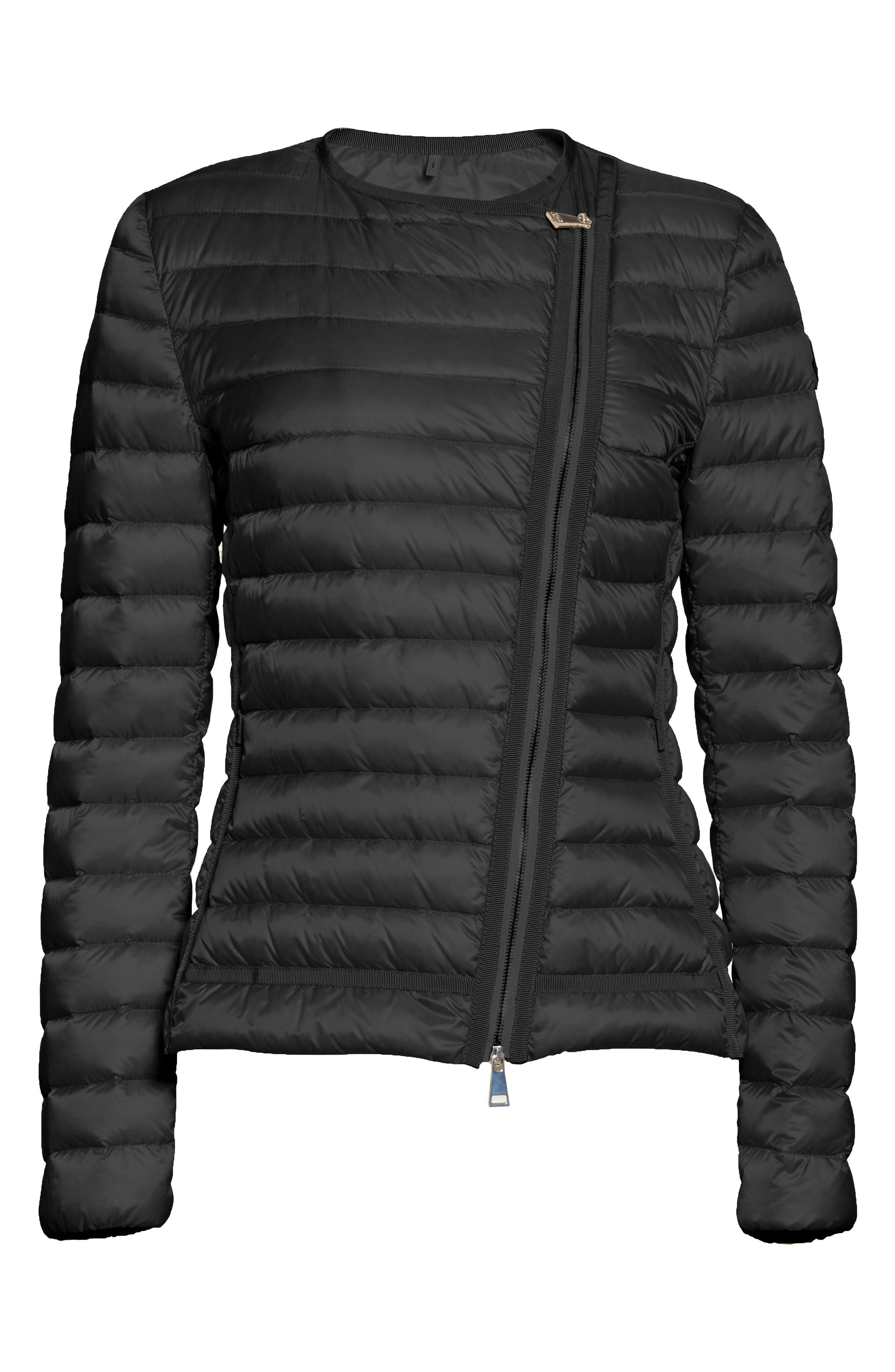 Alternate Image 4  - Moncler Amy Quilted Down Jacket