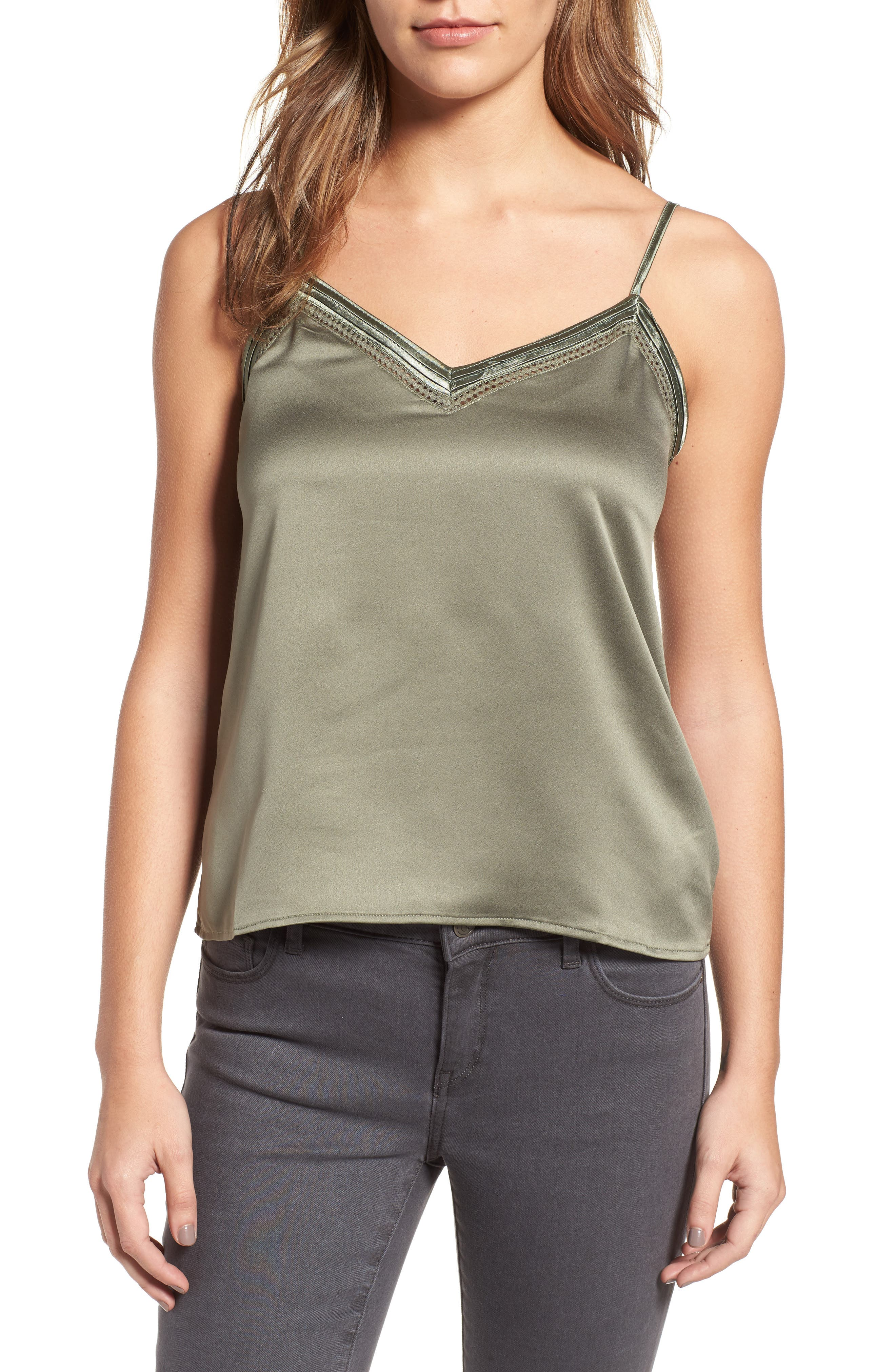 Alternate Image 1 Selected - Sincerely Jules Satin Camisole