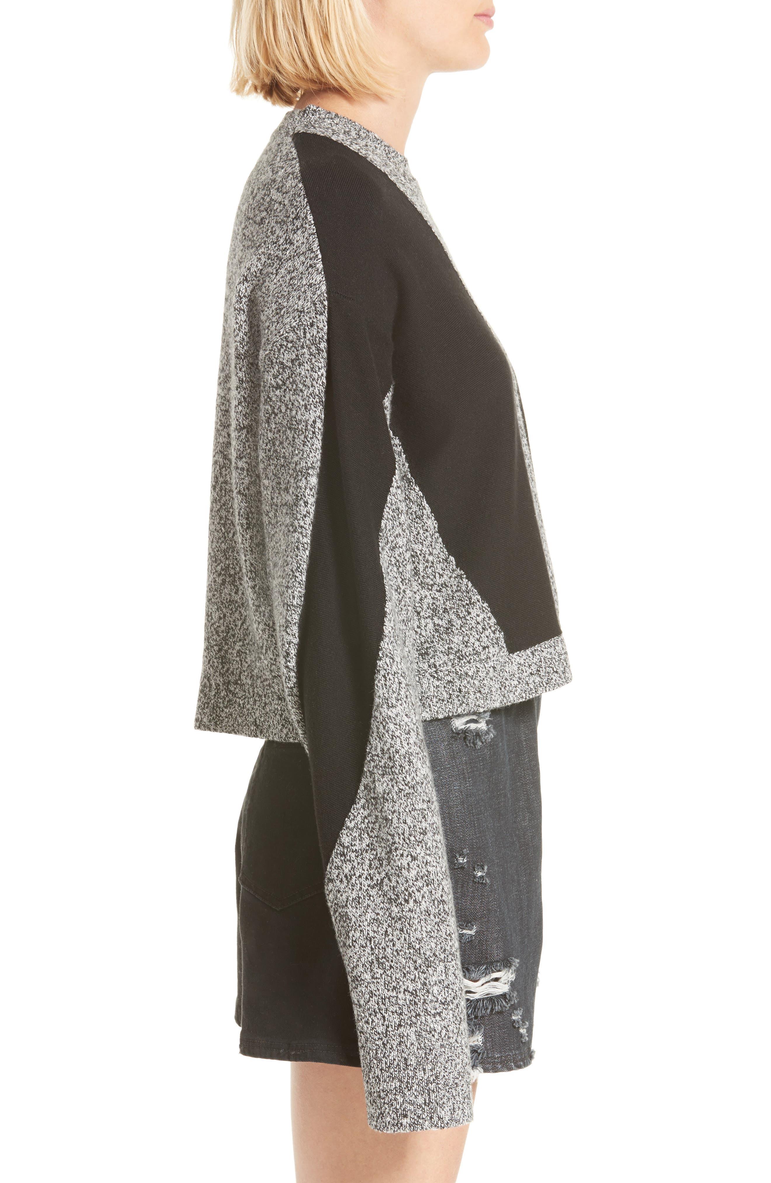 Sana Sweater,                             Alternate thumbnail 4, color,                             Grey Melange