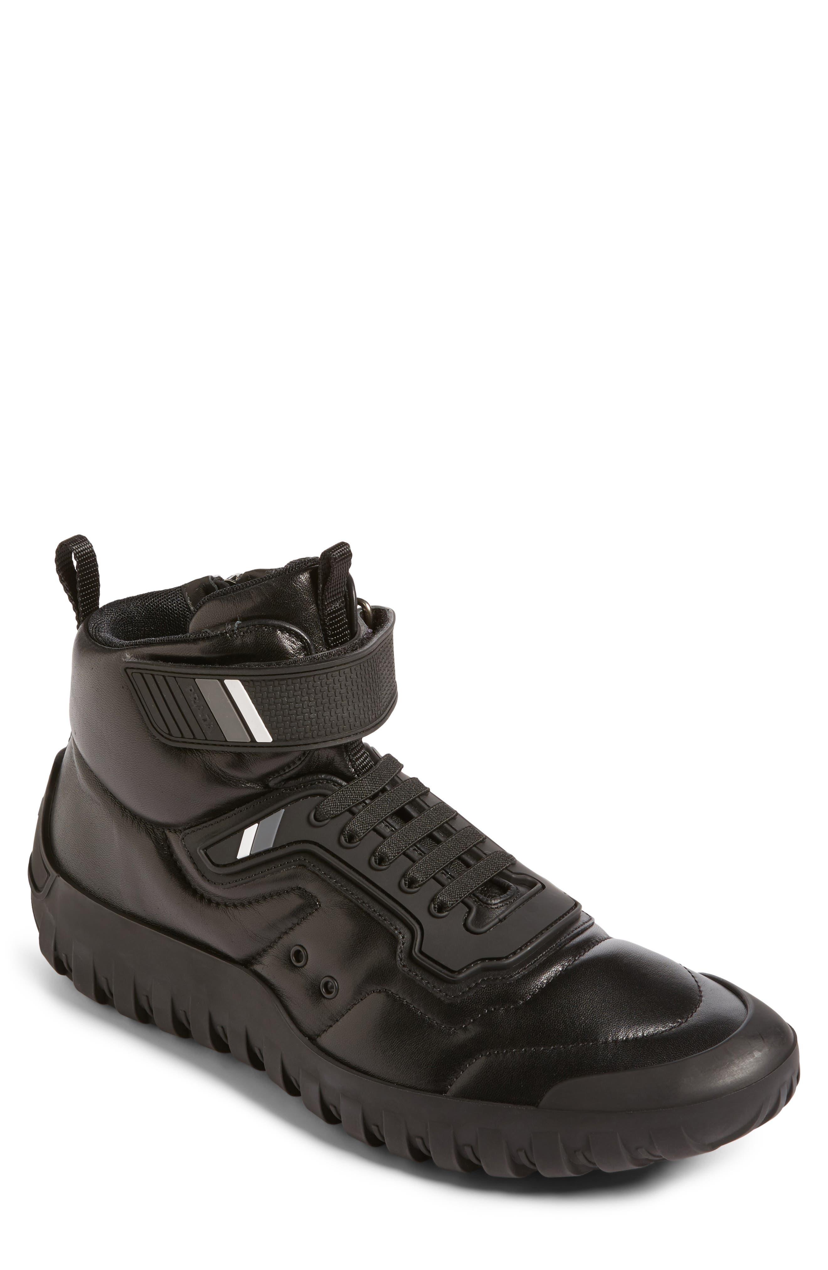 Alternate Image 1 Selected - Prada Linea Rossa Tech Strap Sneaker (Men)