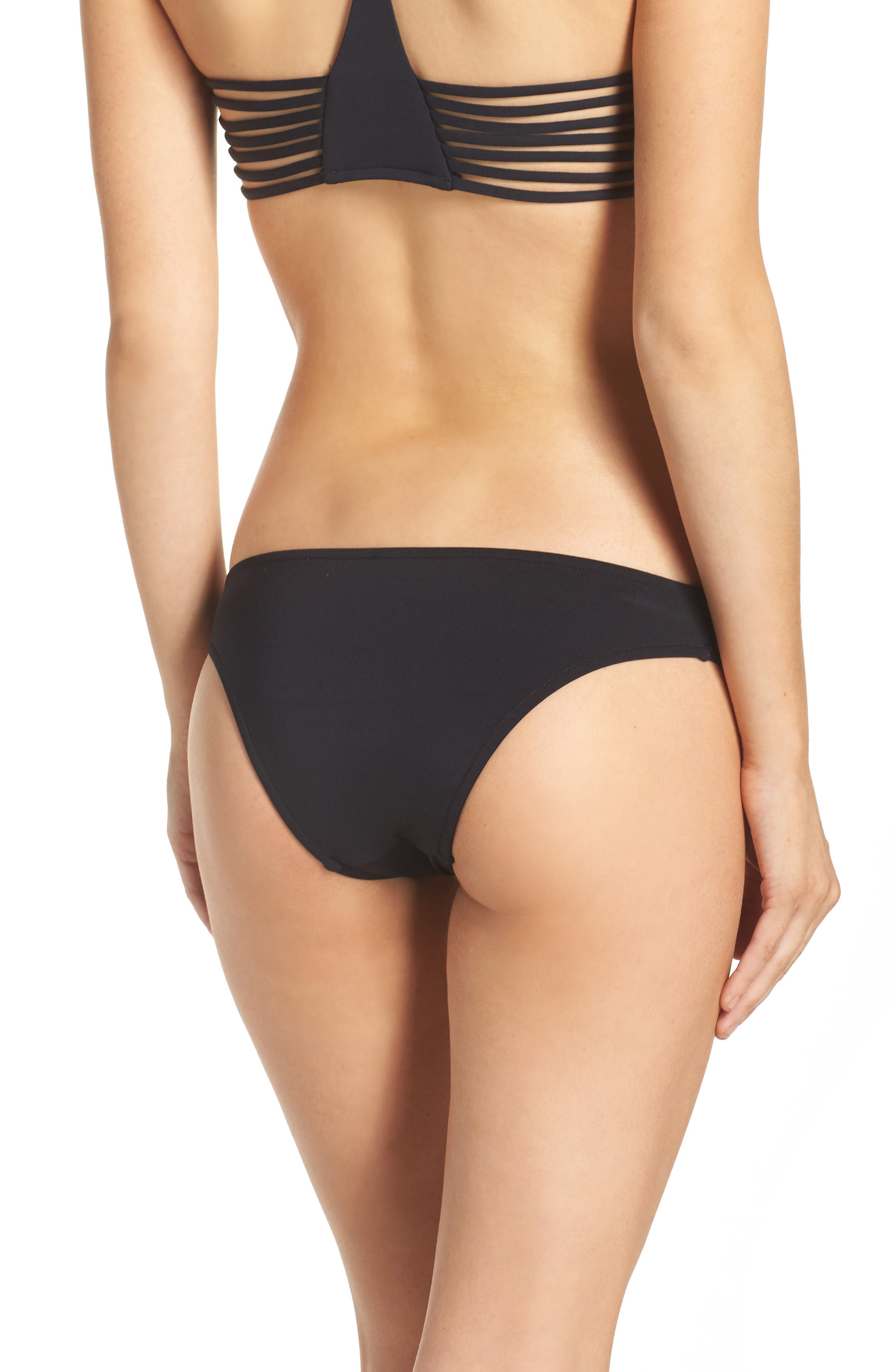 Alternate Image 1 Selected - Seafolly Active Brazilian Bikini Bottoms