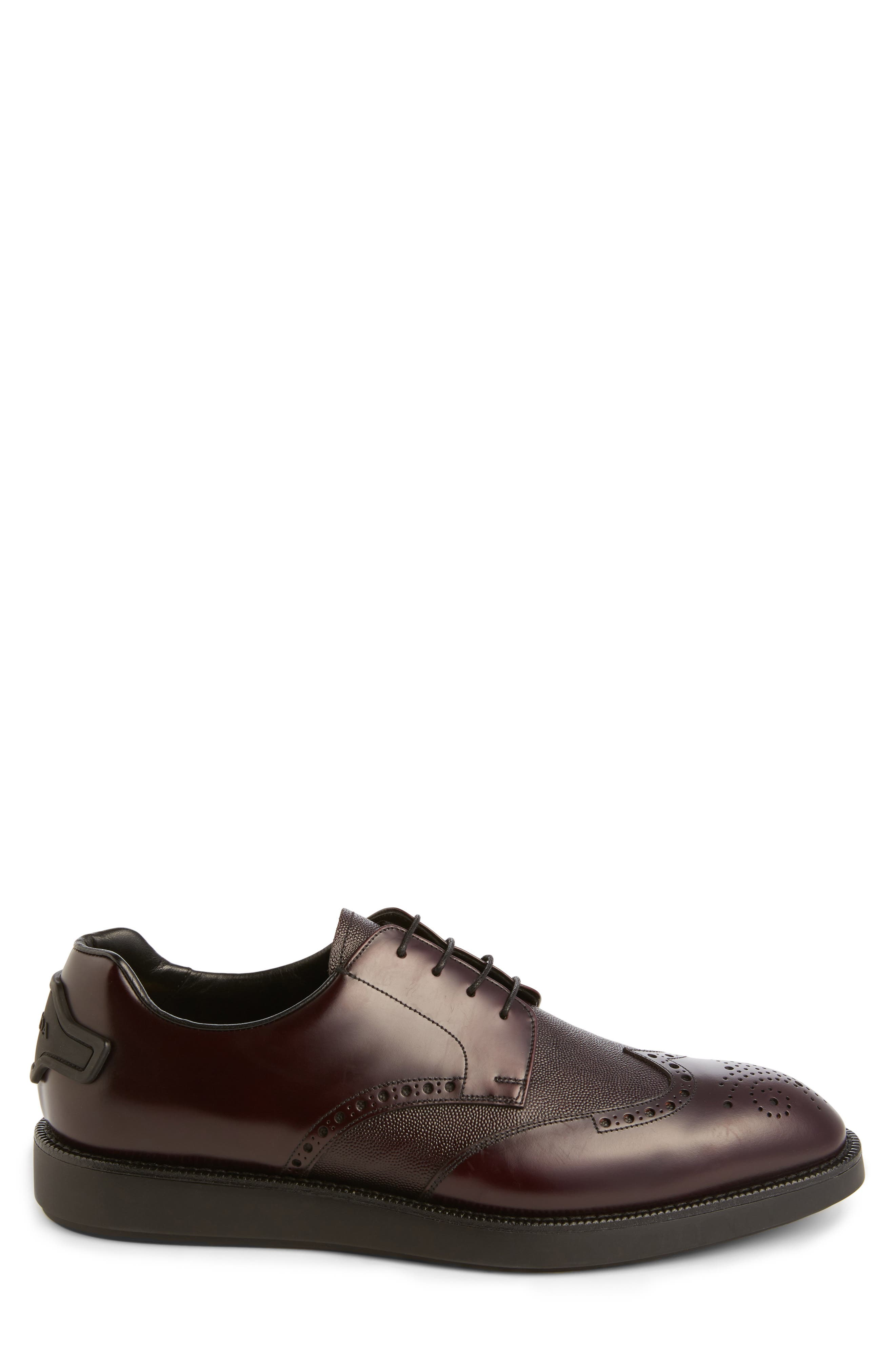 Alternate Image 3  - Prada Wingtip (Men)