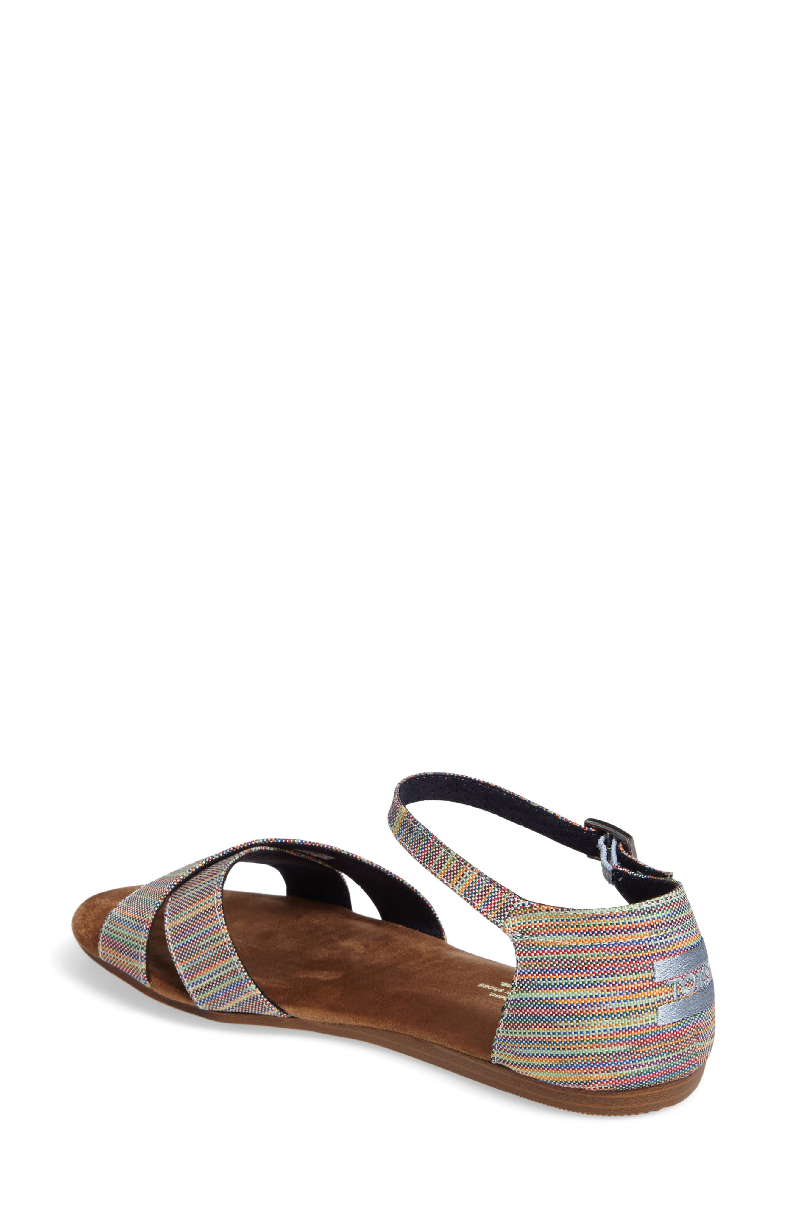 Correa Sandal,                             Alternate thumbnail 2, color,                             Blue Multi