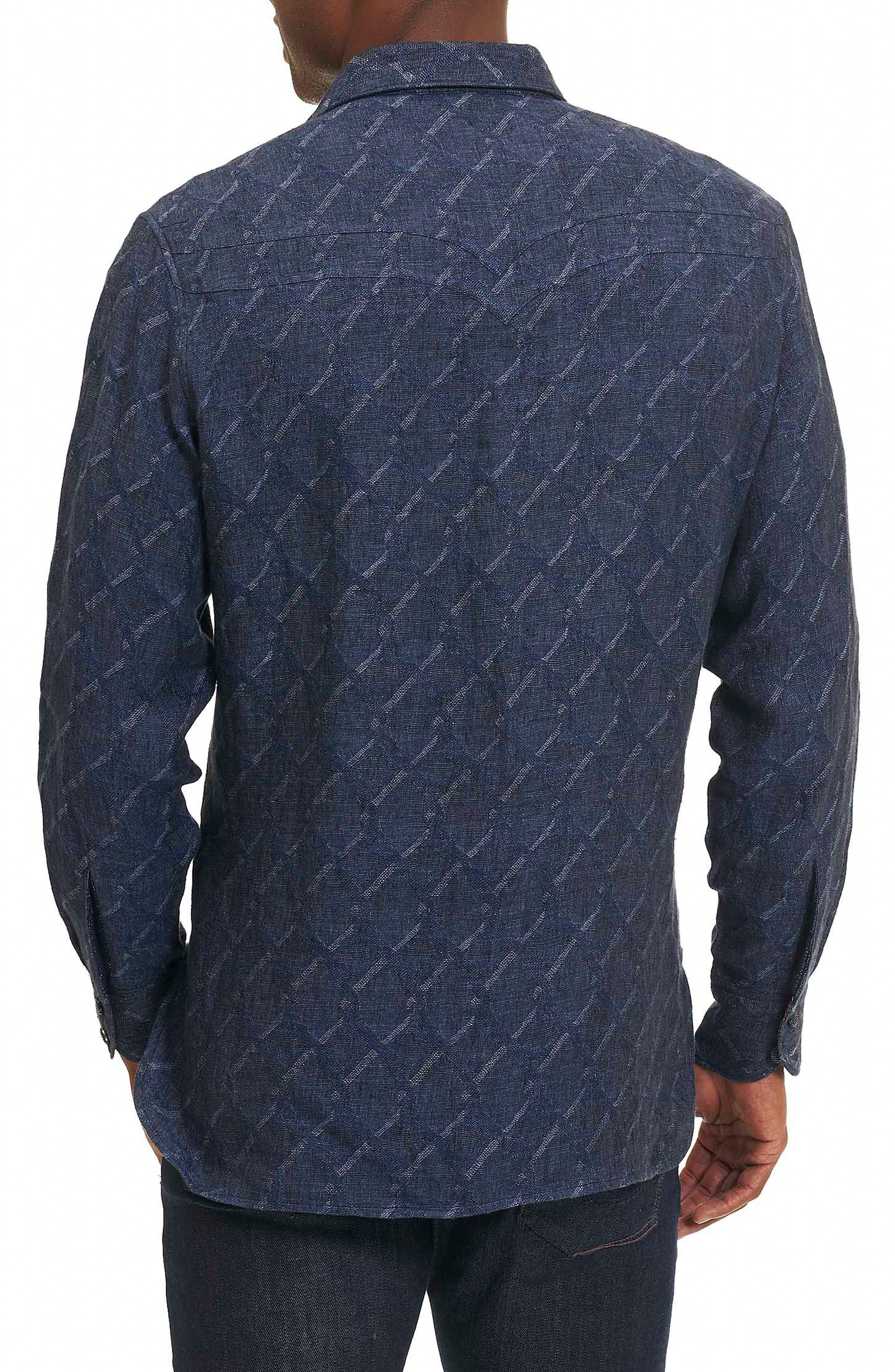 Alternate Image 2  - Robert Graham Siddhartha Classic Fit Sport Shirt (Limited Edition)